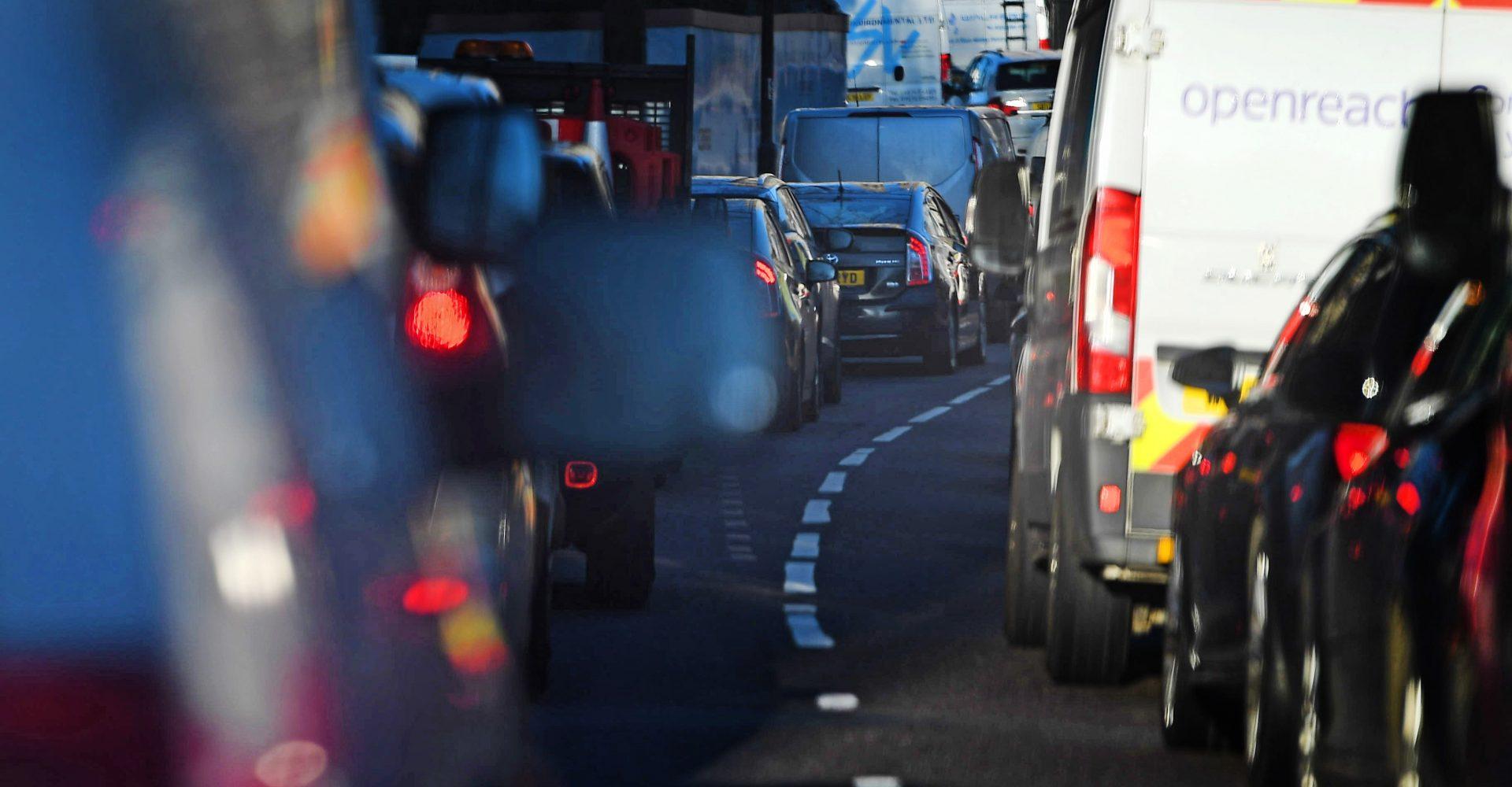 'Concerning' rise in UK traffic despite lockdown rules