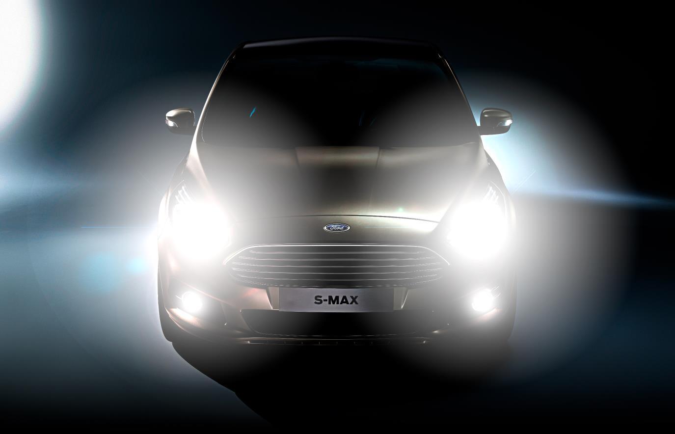 Ford S-MAX Glare-Free High-Beam Headlights