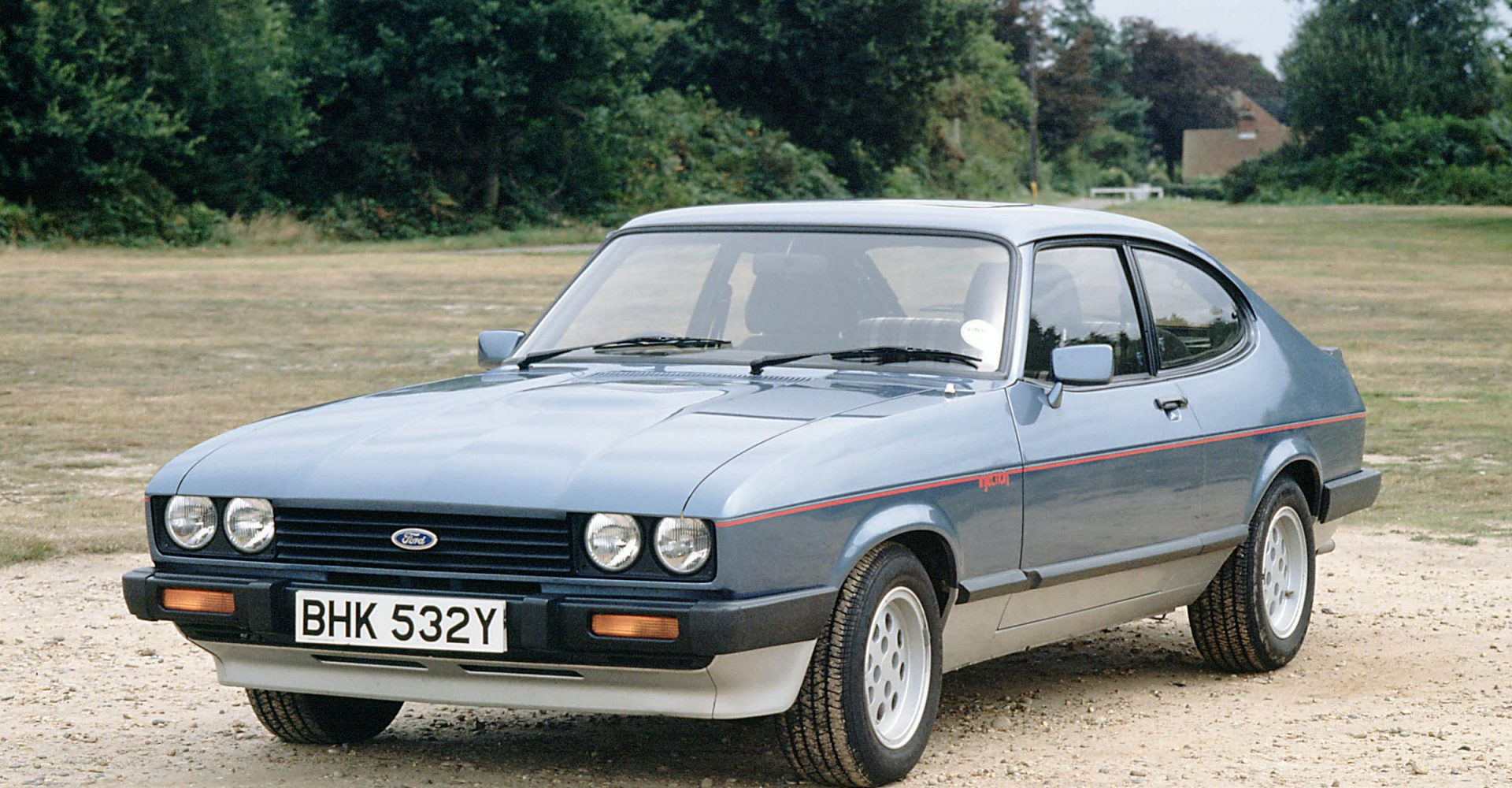 Ford Capri tops list of most searched for classic cars