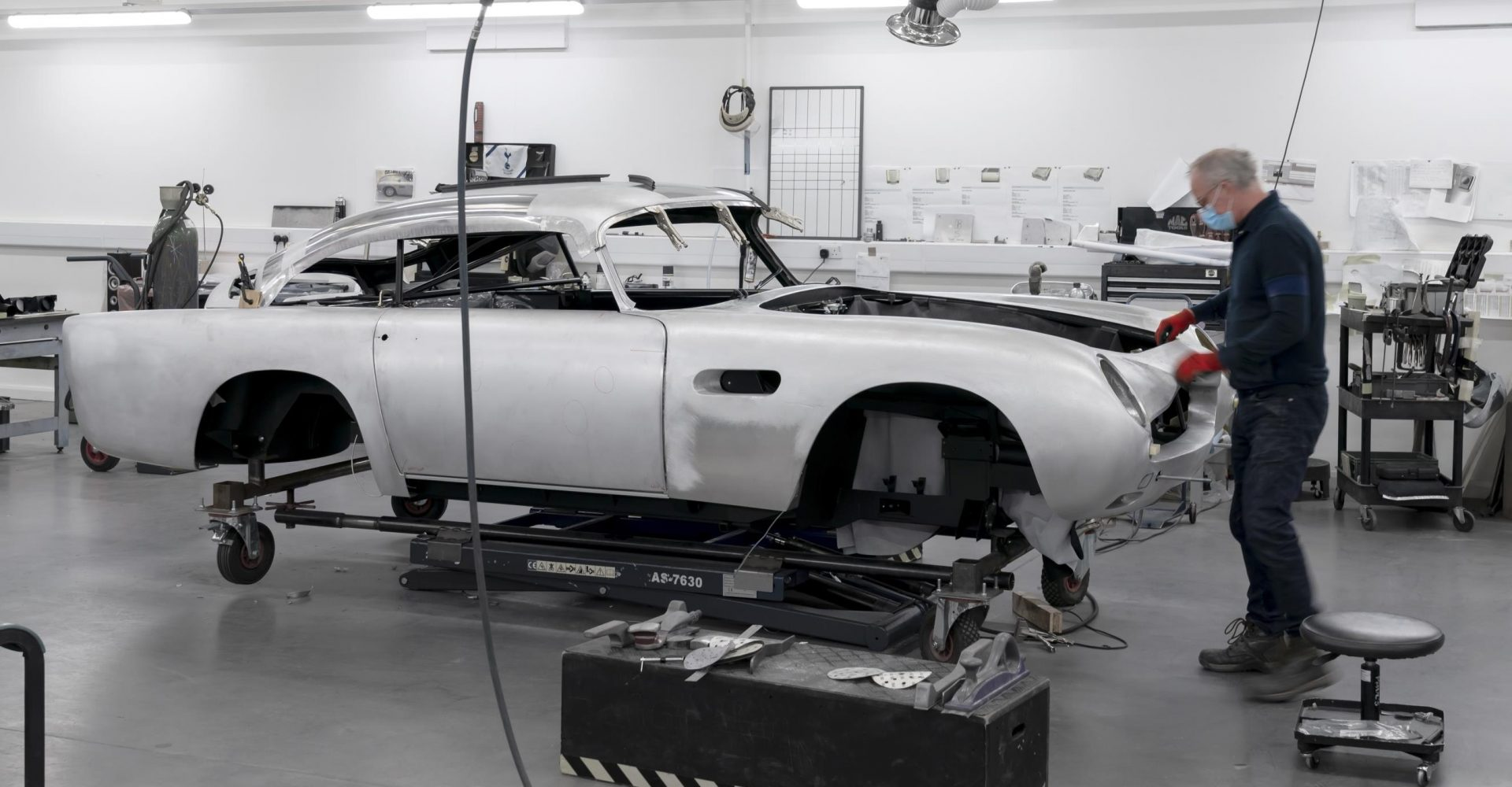 Aston Martin DB5 production recommences after 55 years