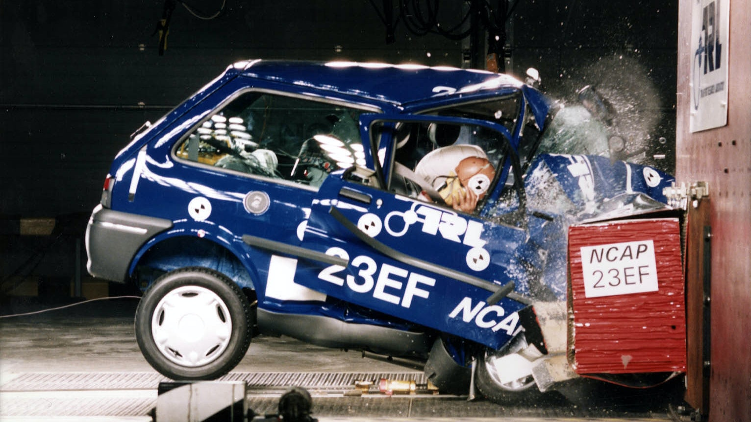How has car safety changed over the years?