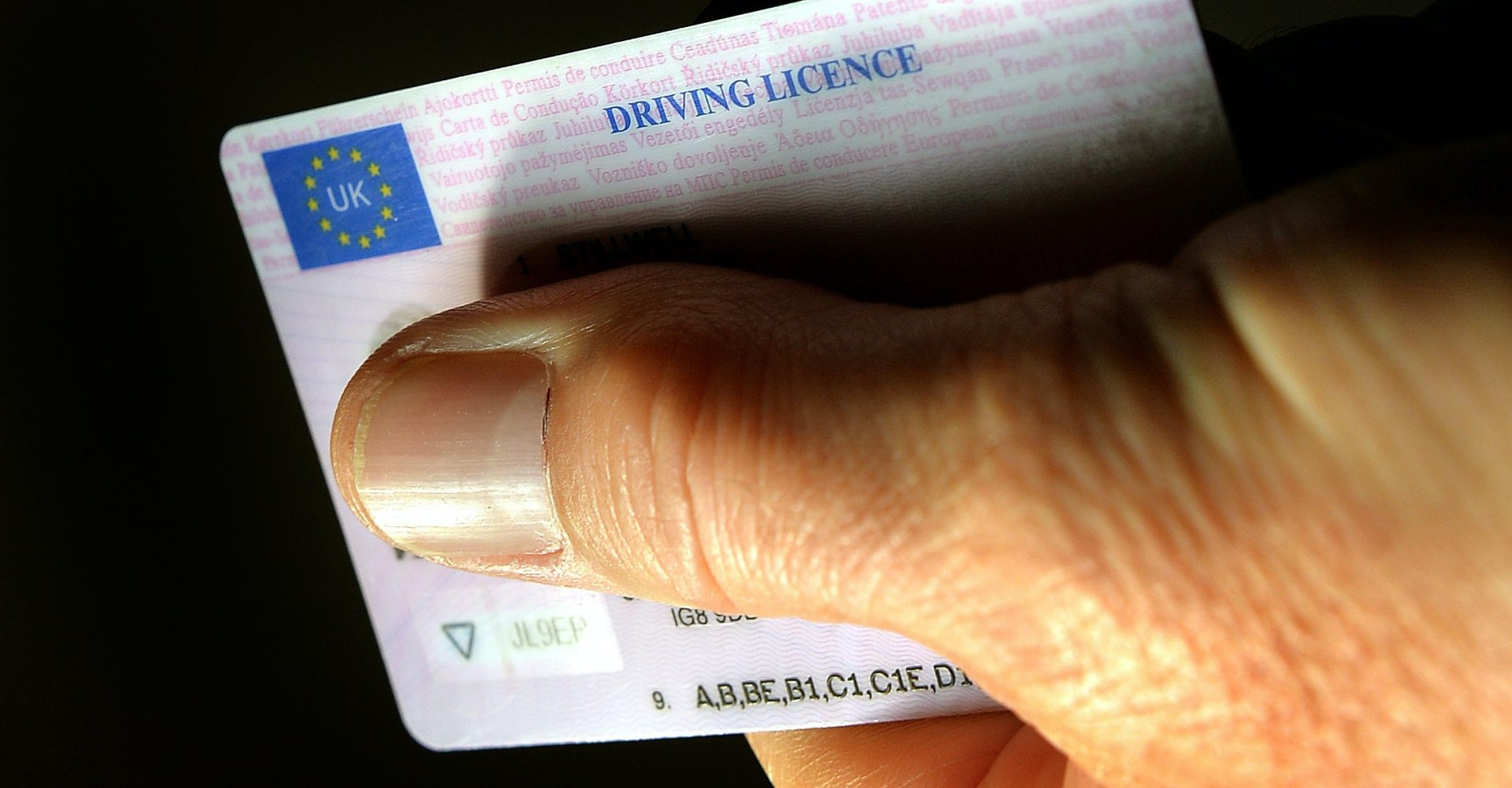 UK motorists to get seven-month extension for photocard driving licences