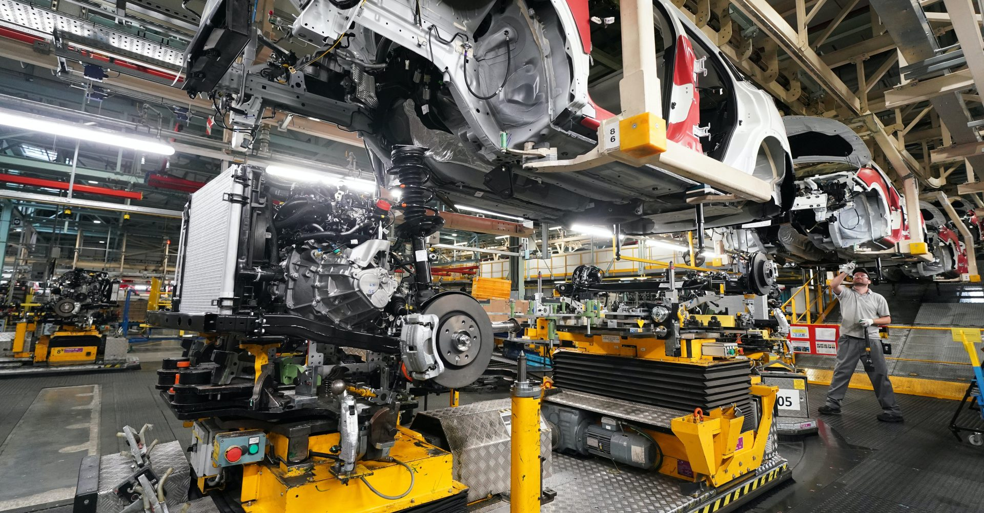 UK car production falls by 95.4 per cent in May