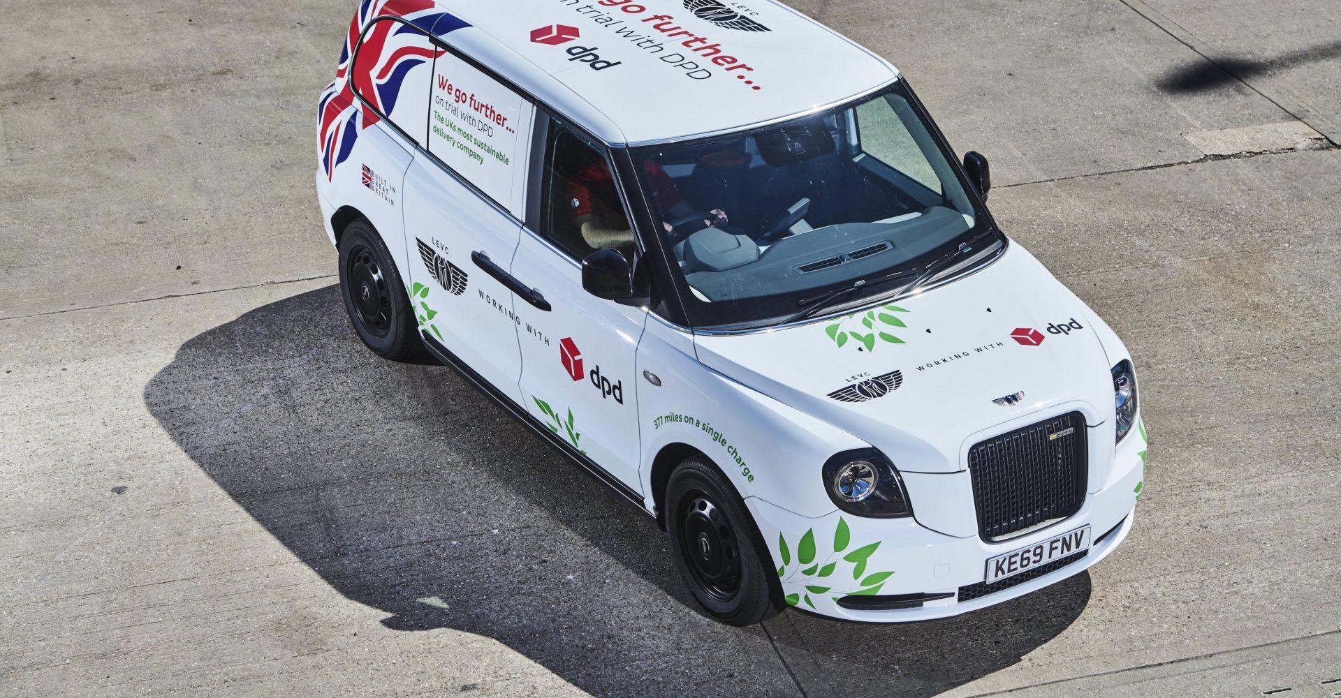 LEVC begins trials of its new electric van