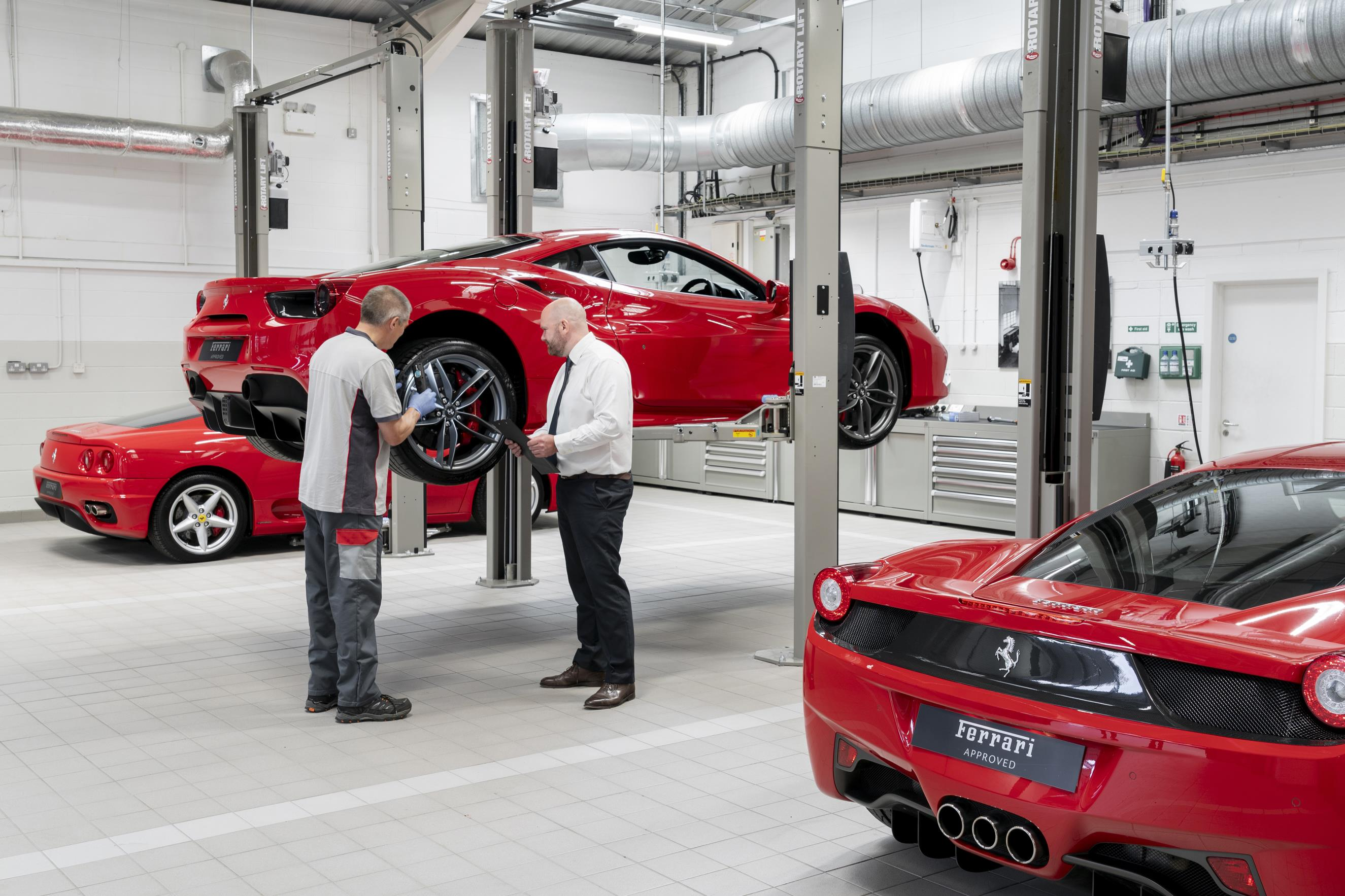 JCT600 Newcastle Ferrari Dealership