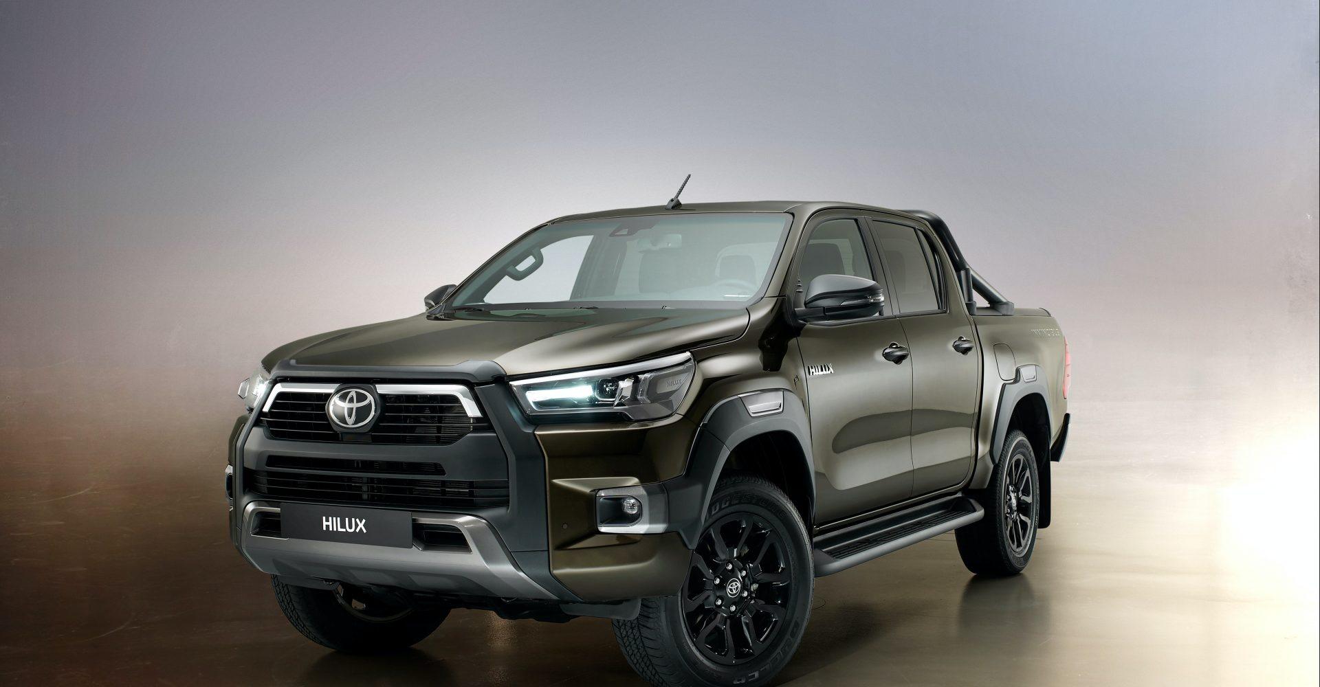 Toyota unveils new Hilux