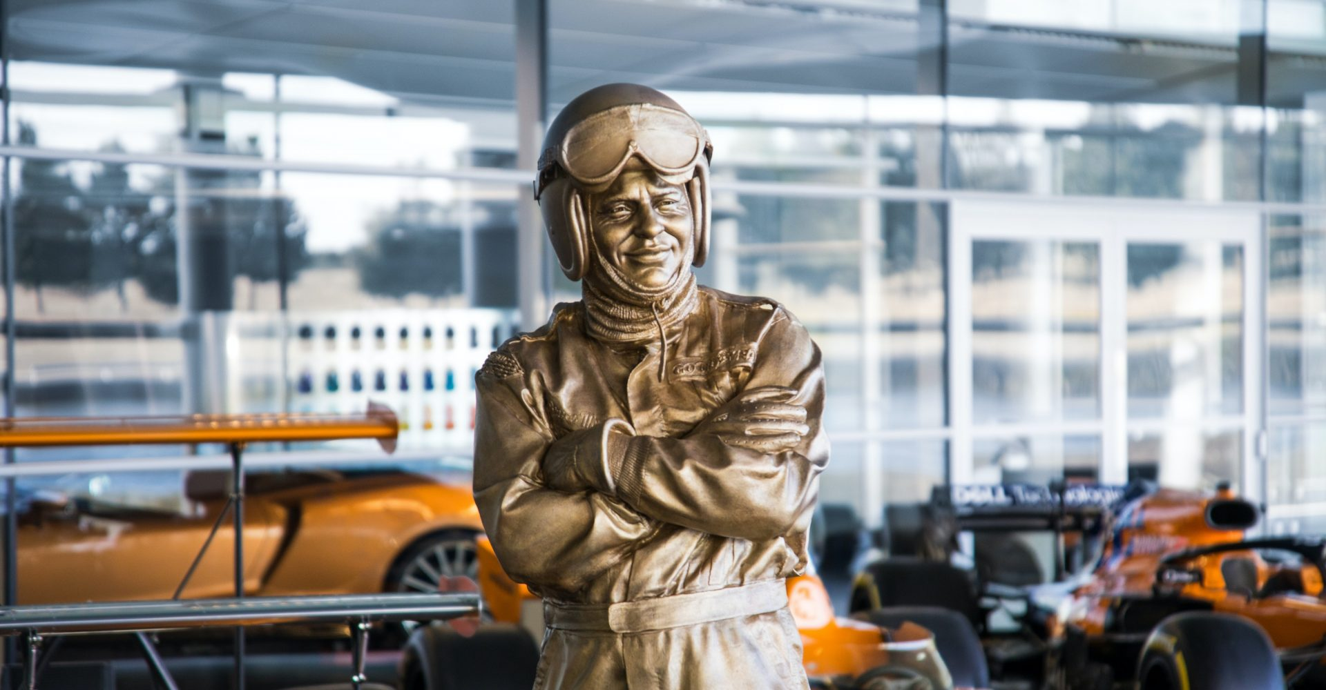 McLaren marks 50th anniversary of Bruce McLaren's death with life-sized statue