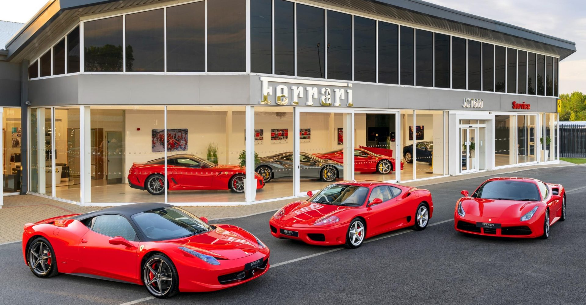 Ferrari opening two new service centres and used car showrooms in the UK