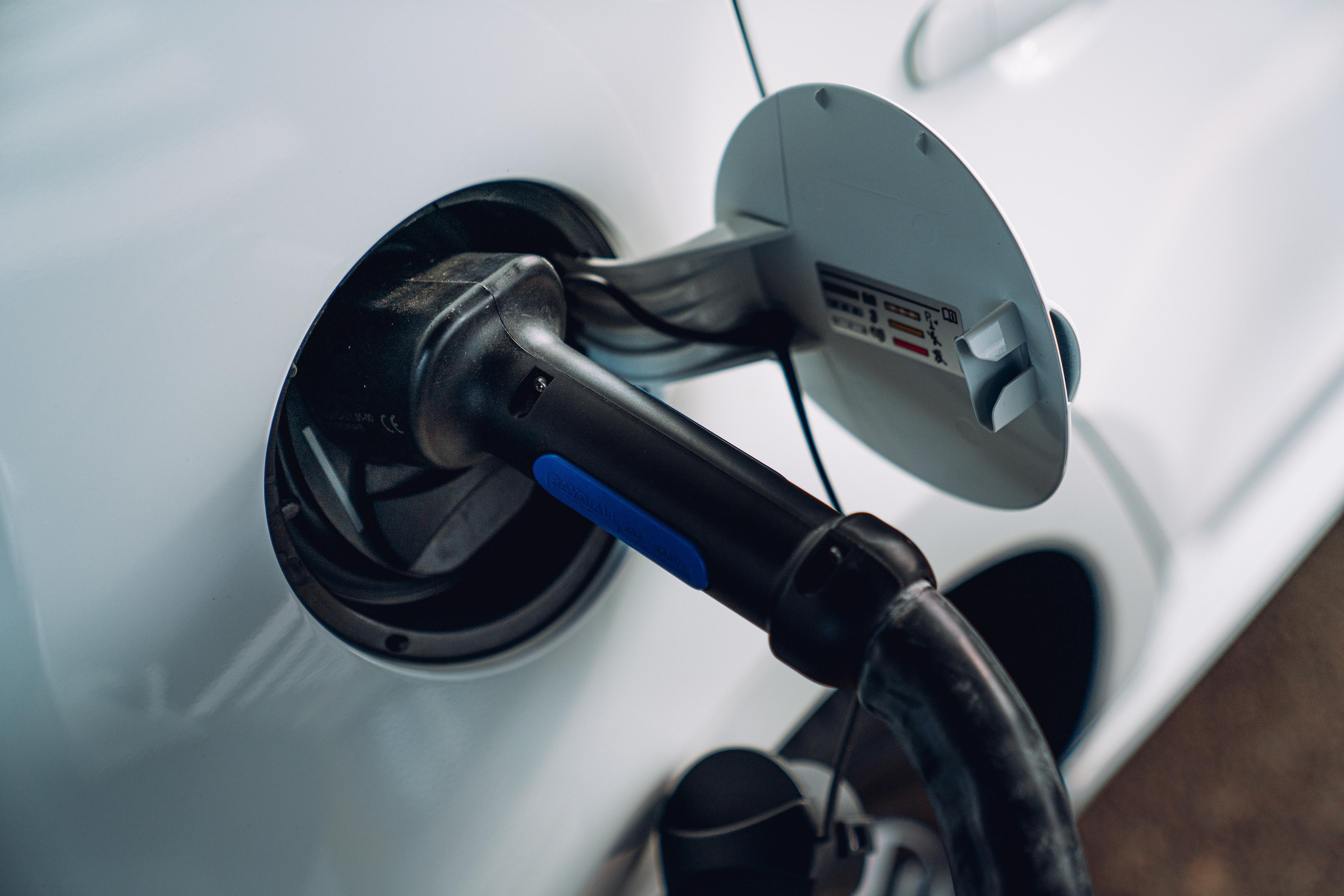 e-Up! charging port
