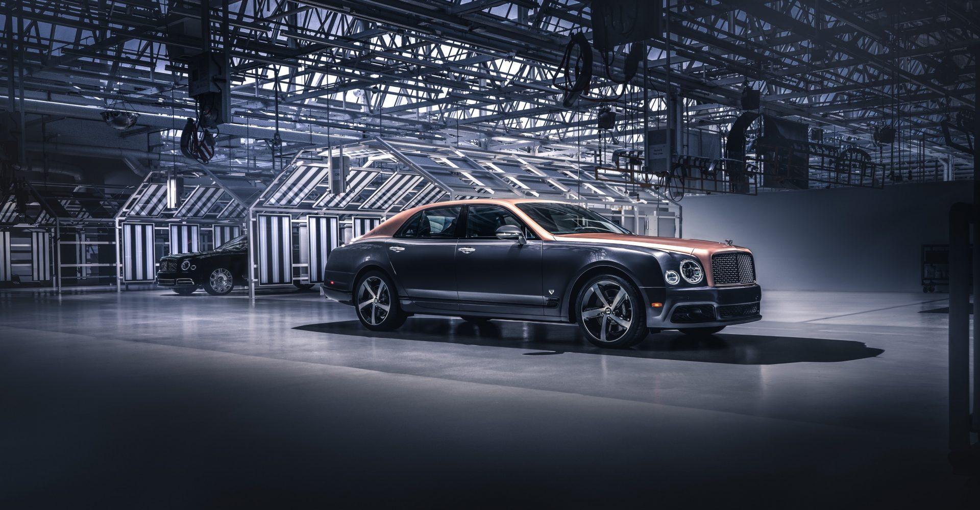 Final Bentley Mulsanne rolls off the production line