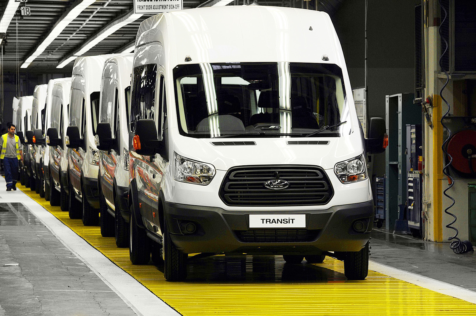 Ford Transit Production