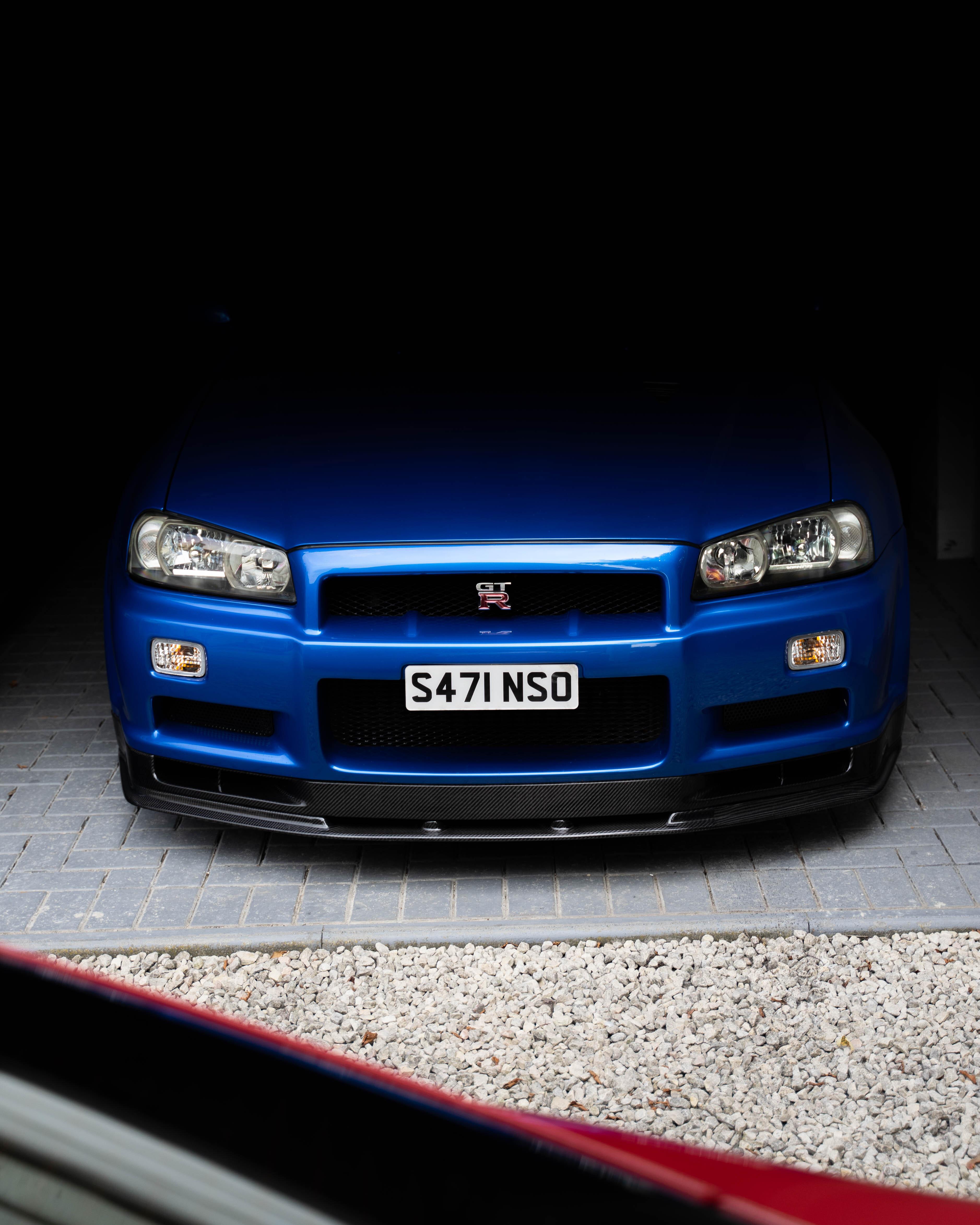 Car in shade