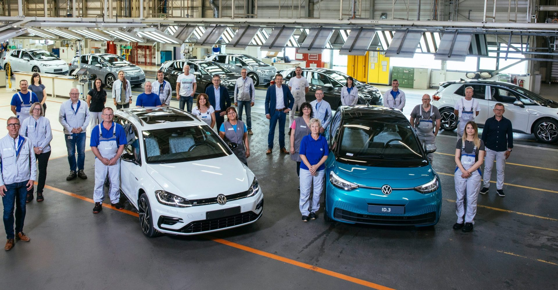 After 116 years, VW's Zwickau plant switches from combustion engines to electric