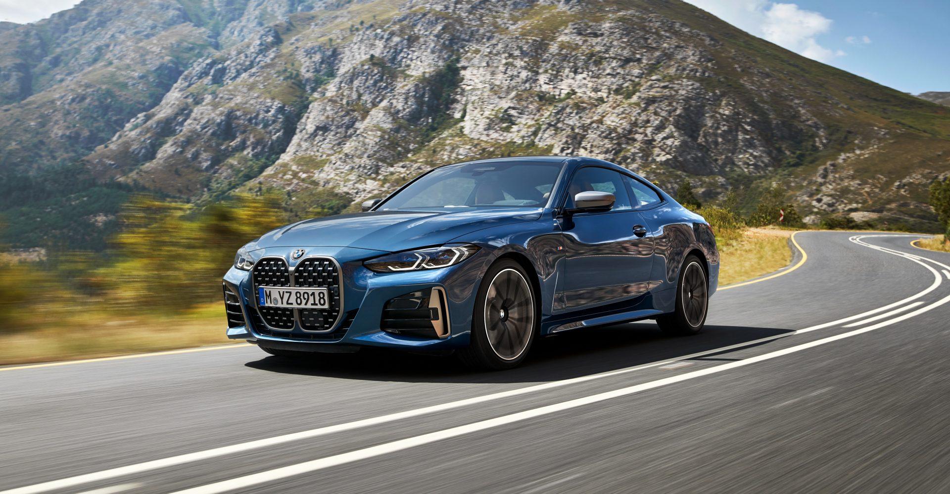 BMW unveils eye-catching new 4 Series