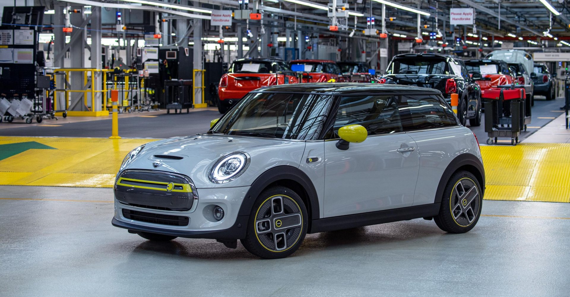 Mini hits EV production milestone