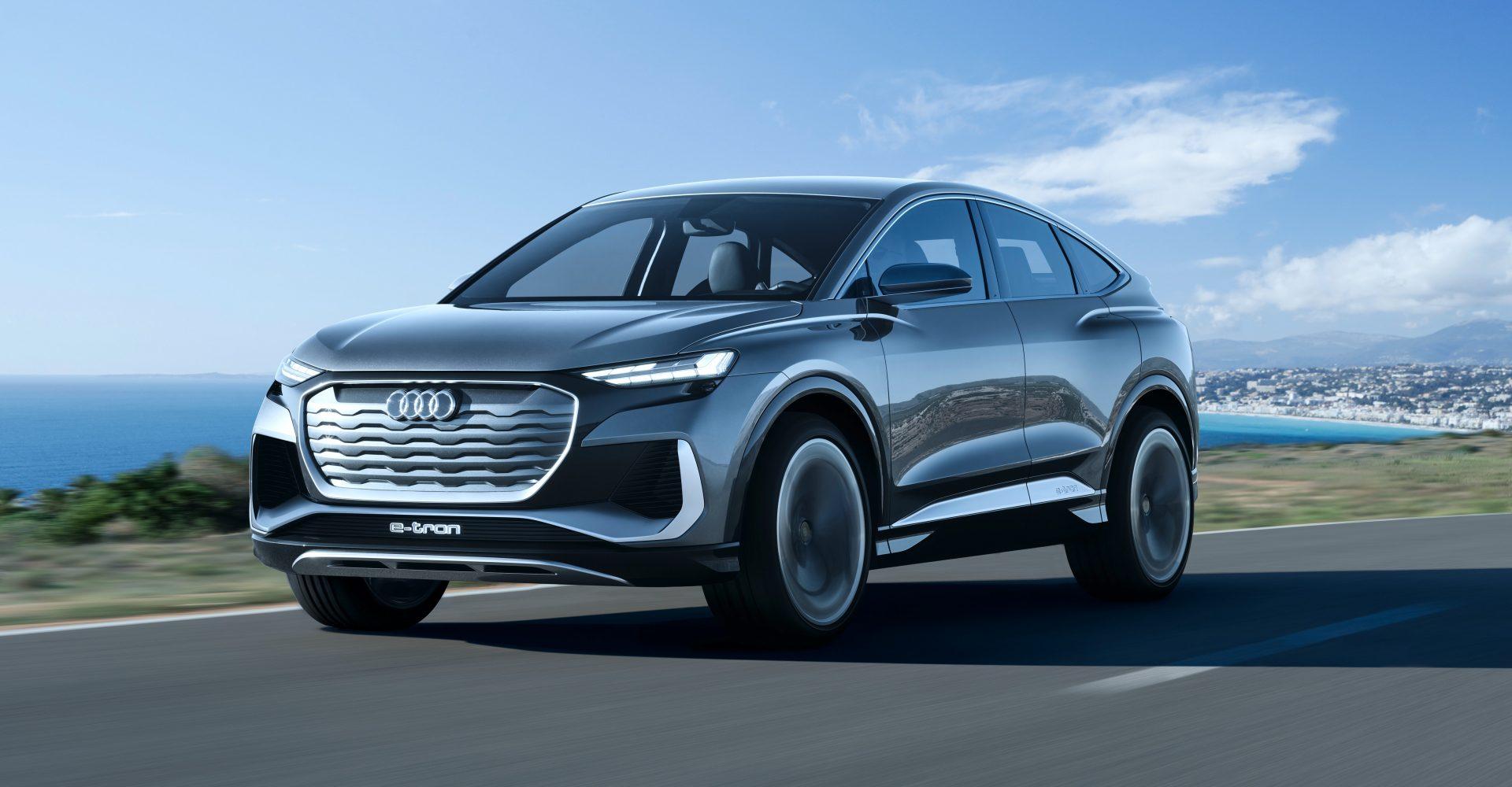 Audi unveils new Q4 Sportback e-tron concept