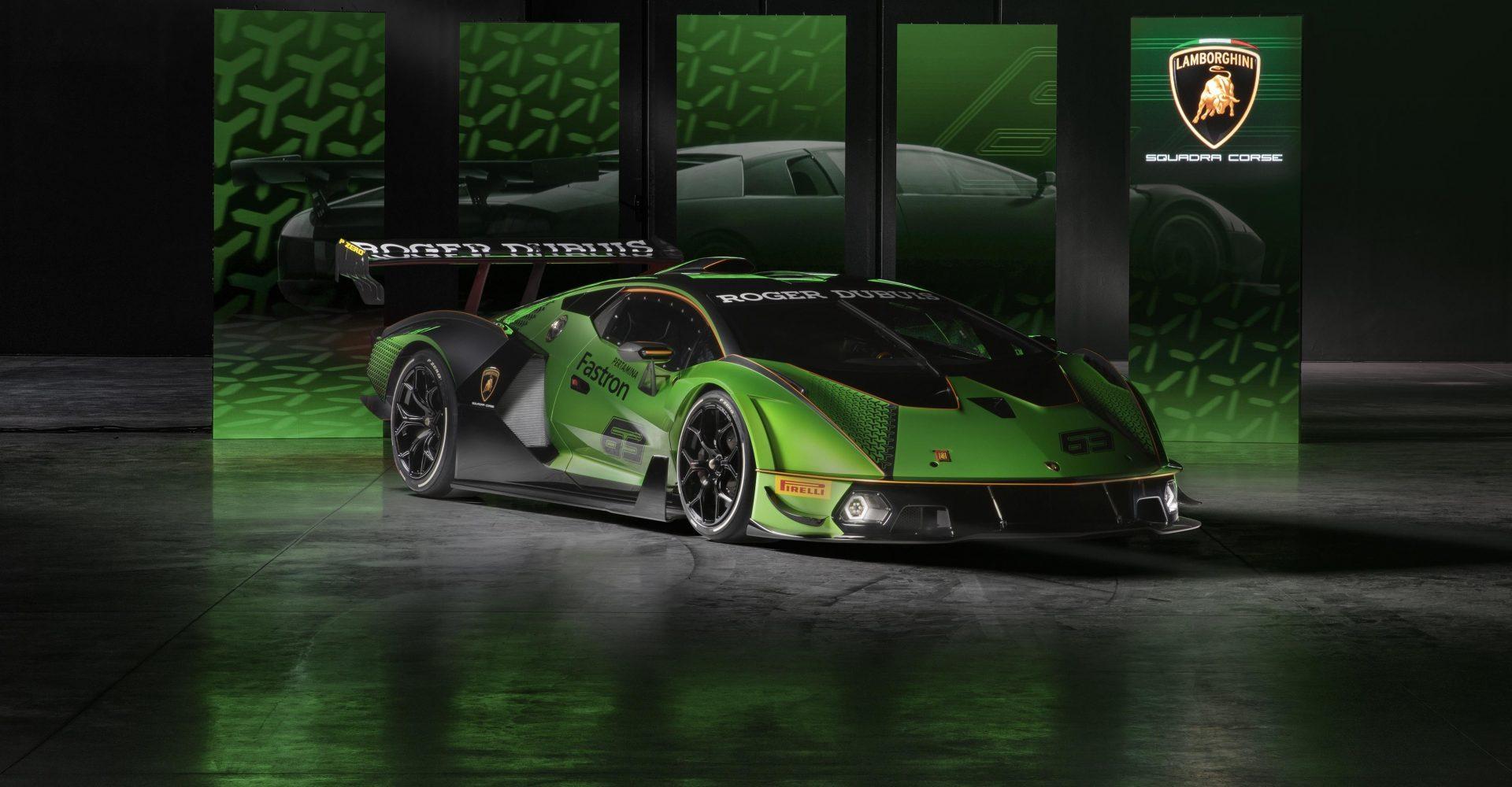 Lamborghini unveils limited-edition Essenza SCV12