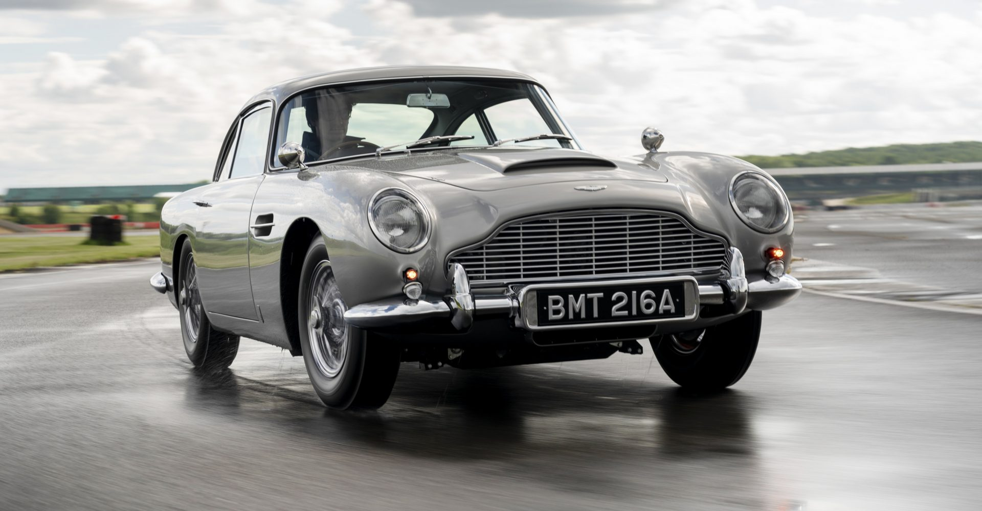 First Bond-inspired Aston Martin DB5 Continuation model completed