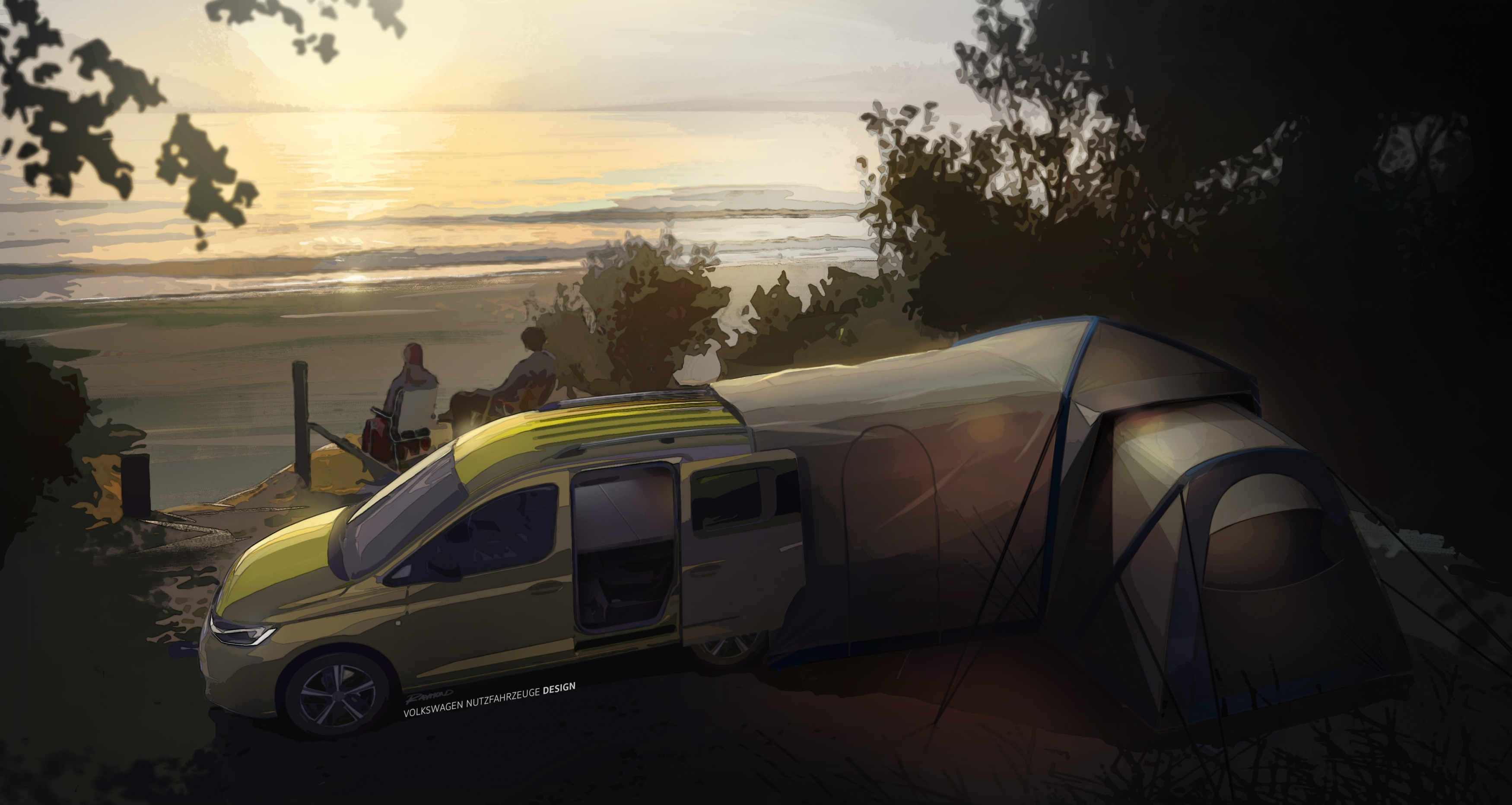 Caddy camper