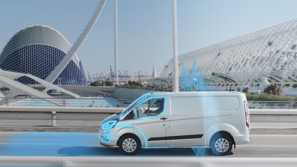 Ford introduces new geofencing technology for Transit Custom PHEV