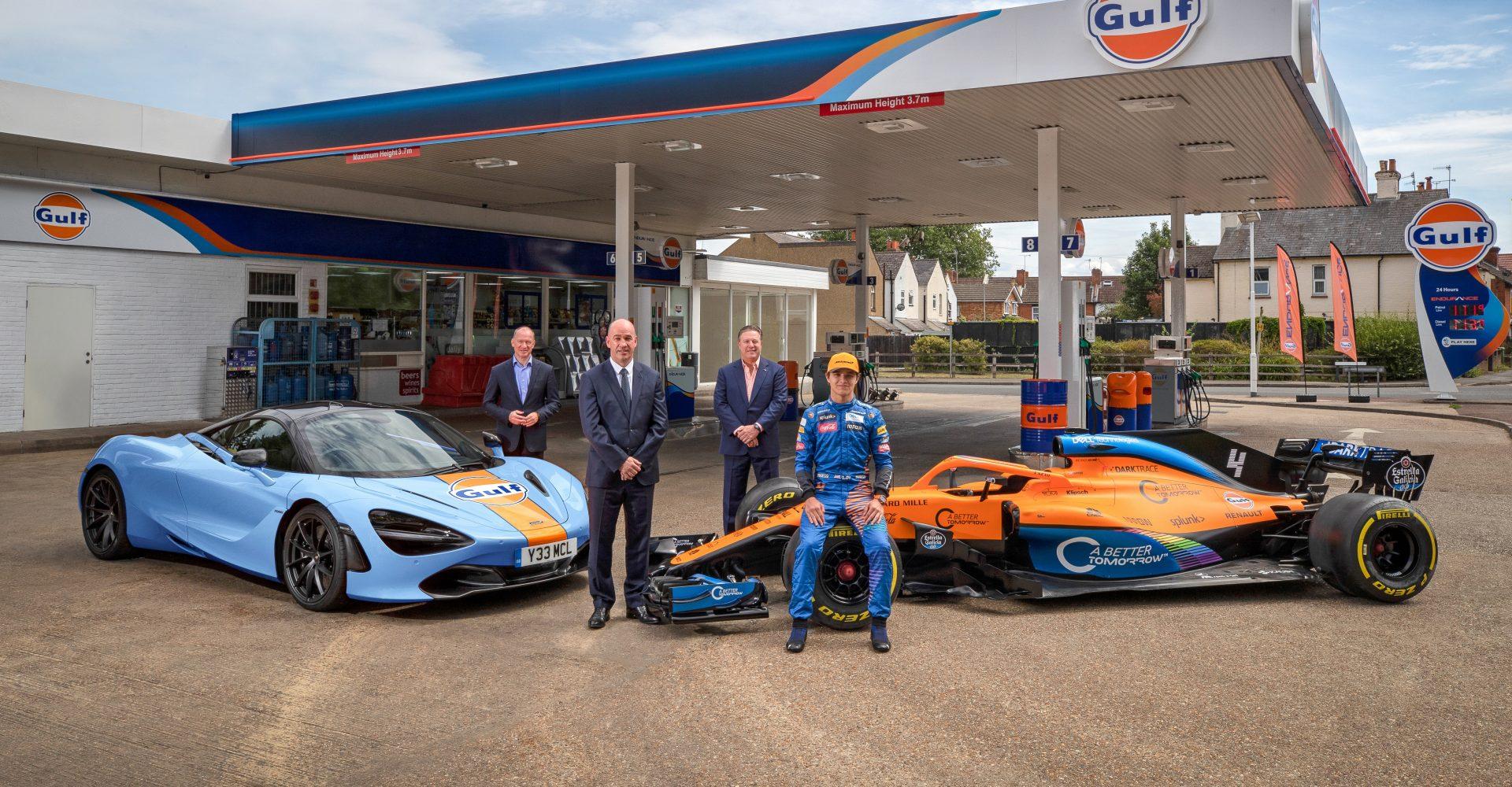 McLaren announces multi-year partnership with Gulf Oil