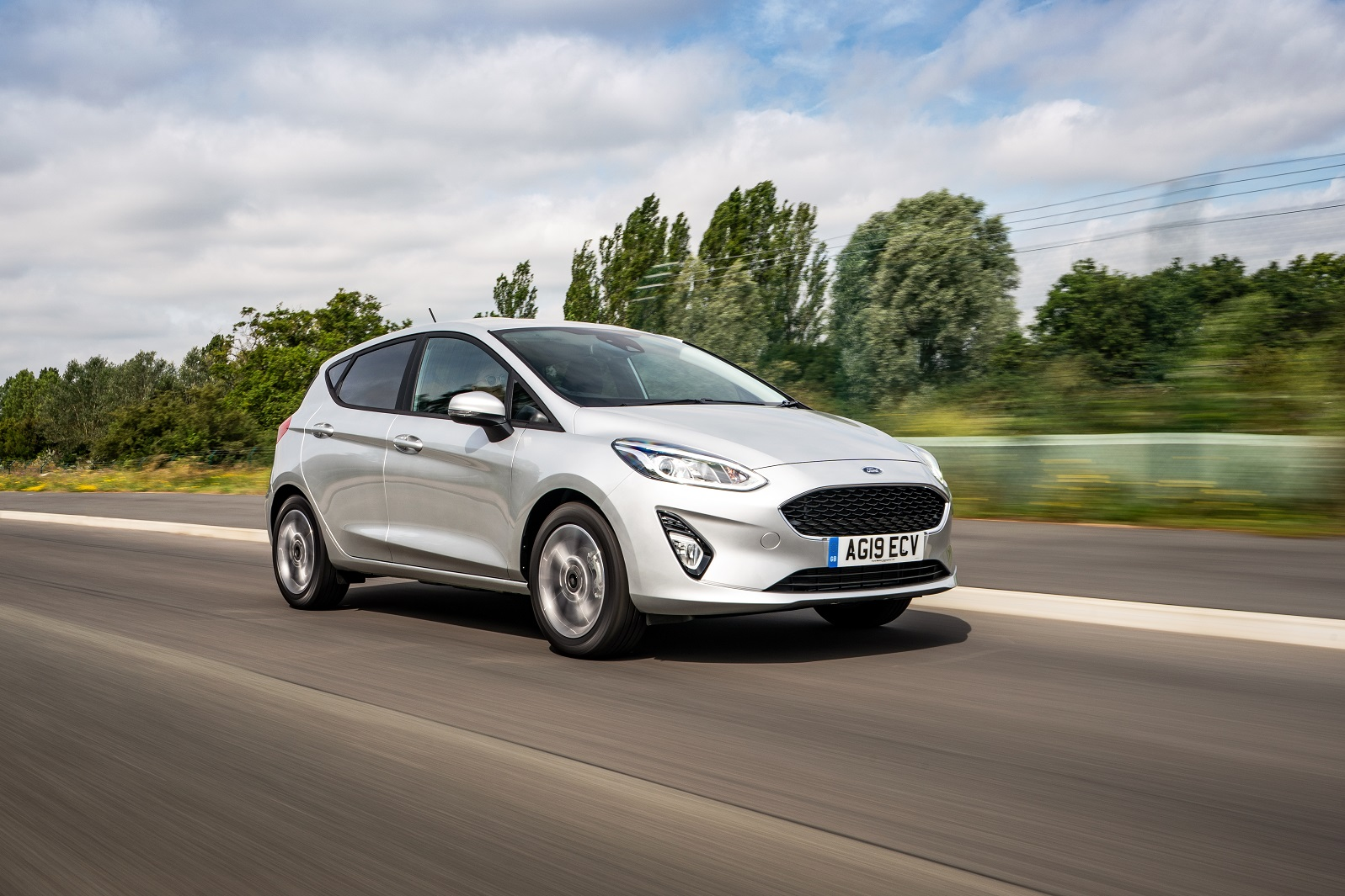 Ford Fiesta Trend exterior dynamic