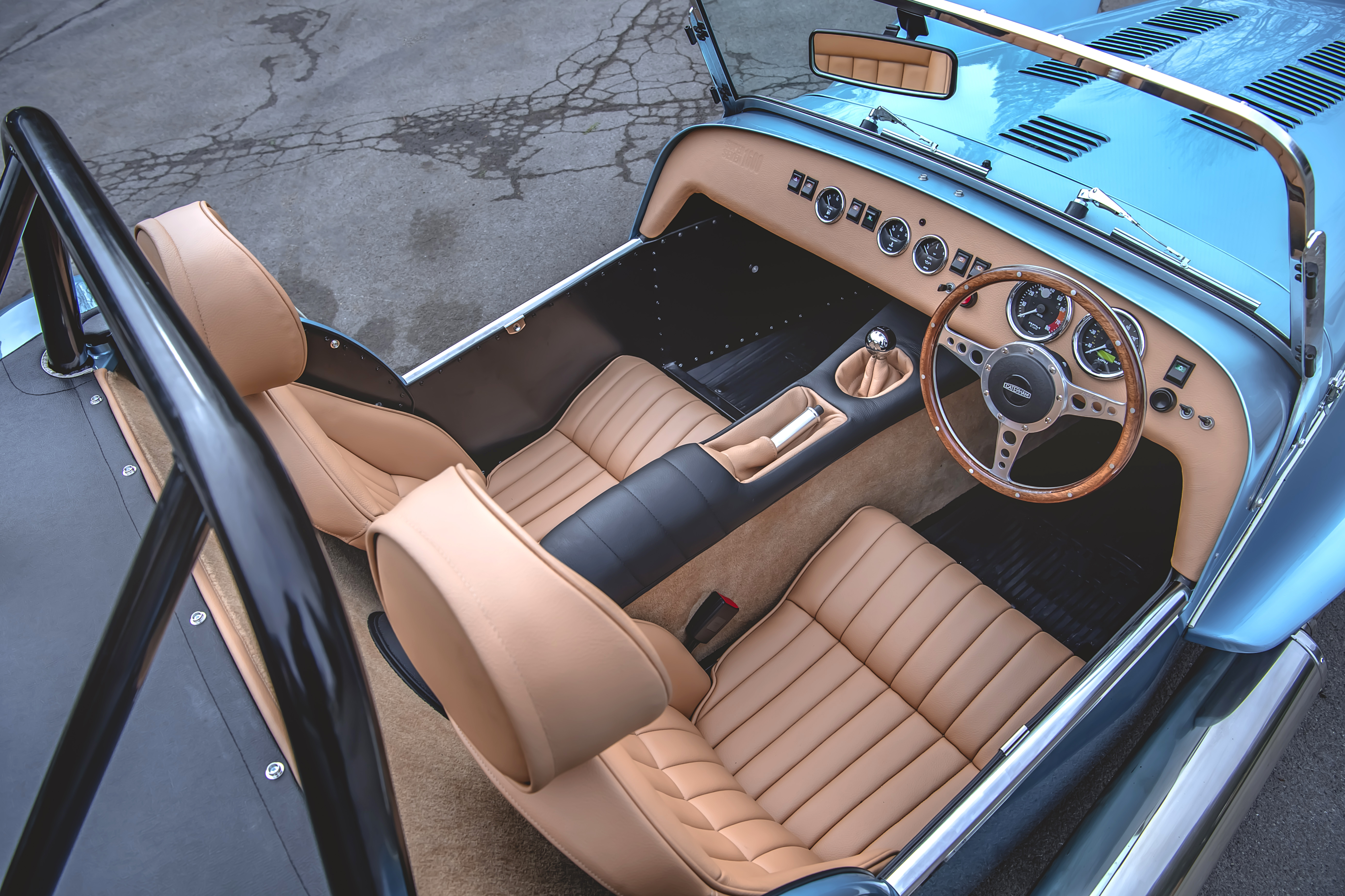 Caterham Interior