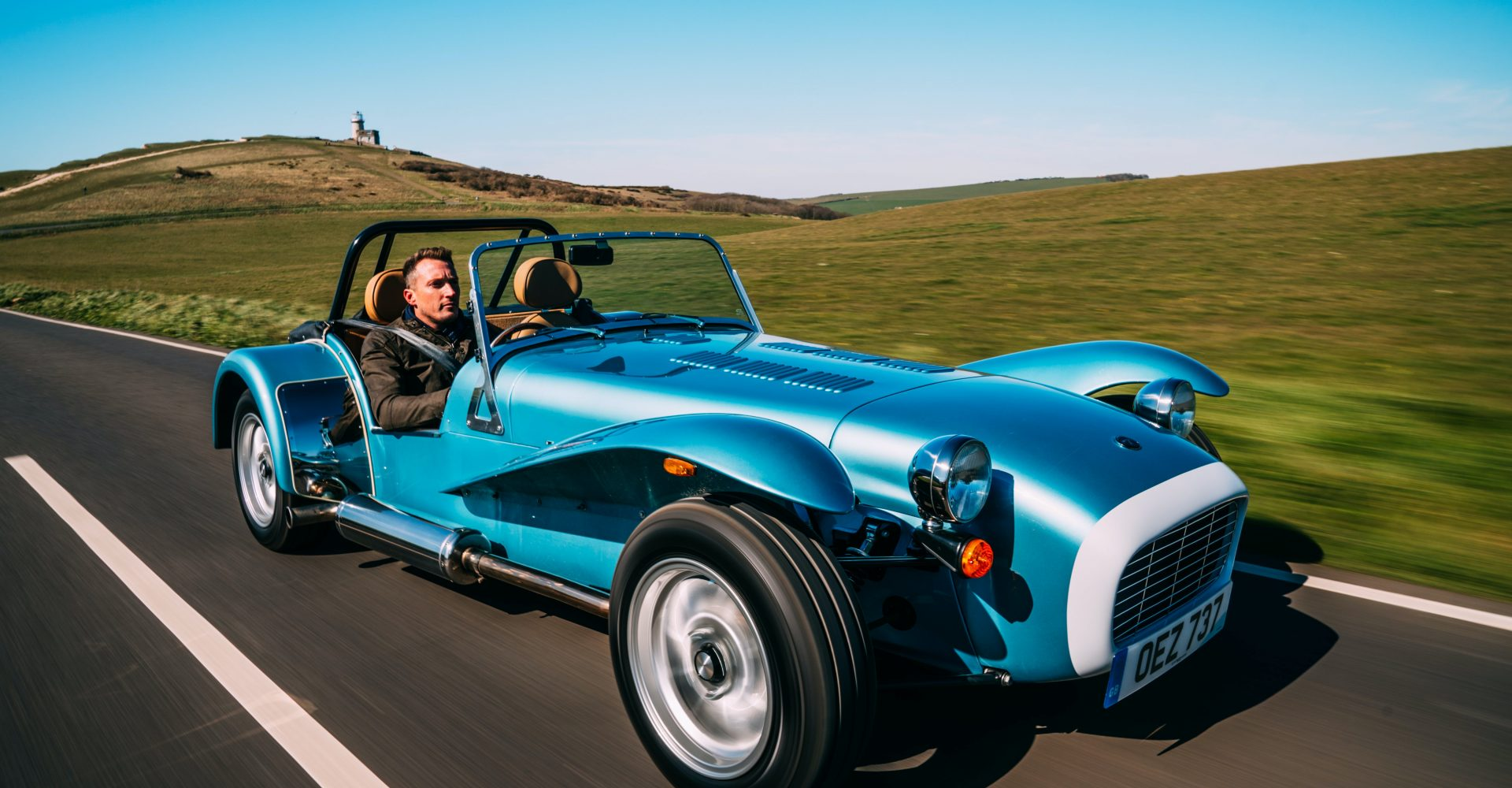 First Drive: The Caterham Super Seven 1600 harks back to a golden age of motoring