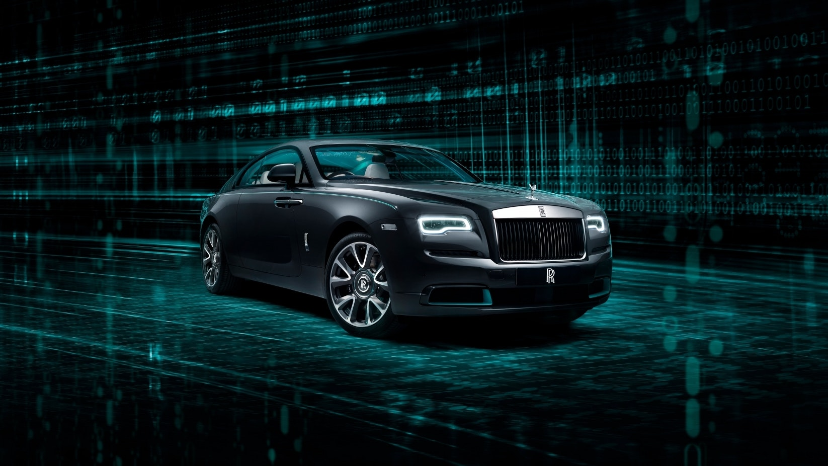 New Rolls-Royce Wraith Kryptos invites owners to decipher encrypted message