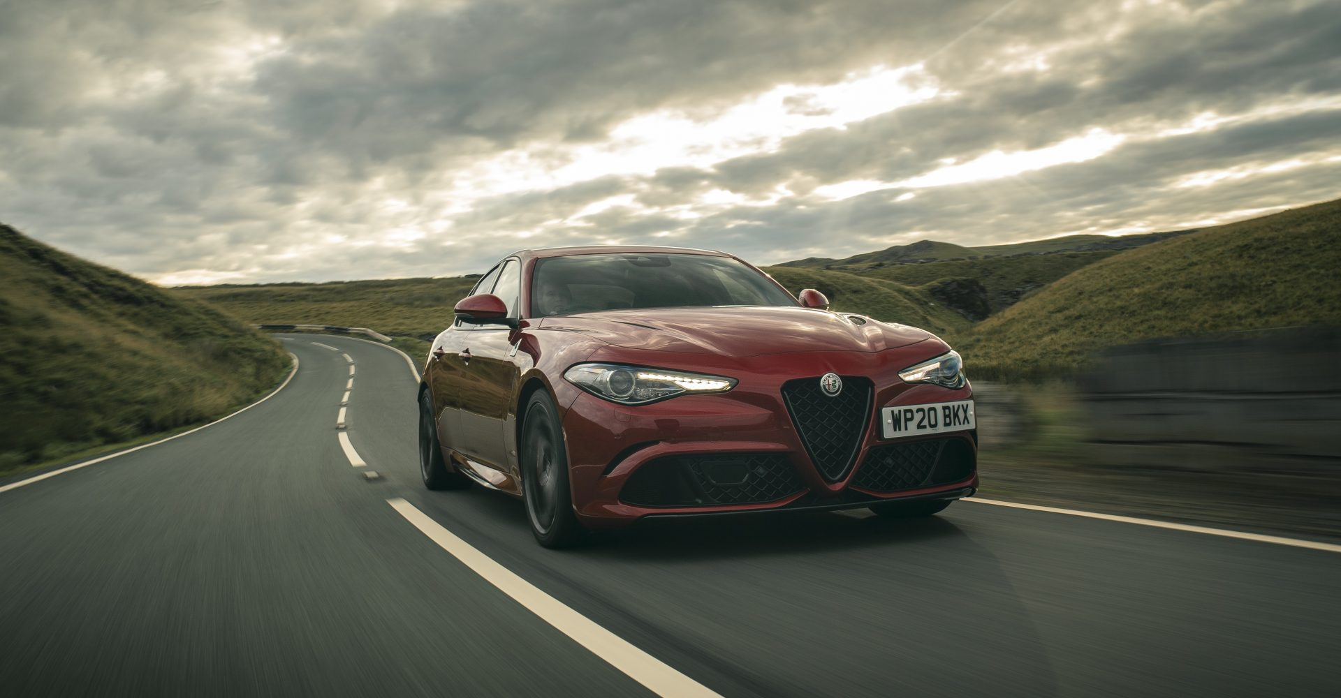 First Drive: Updates to the Alfa Romeo Giulia Quadrifoglio help refine the experience