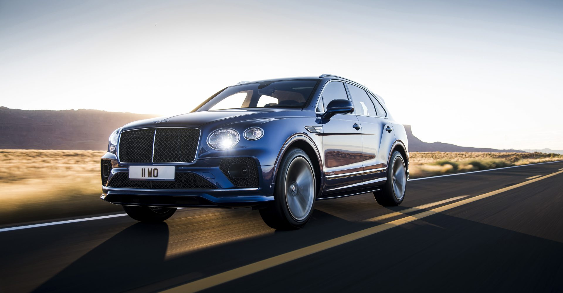 Bentley reveals 626bhp Bentayga Speed