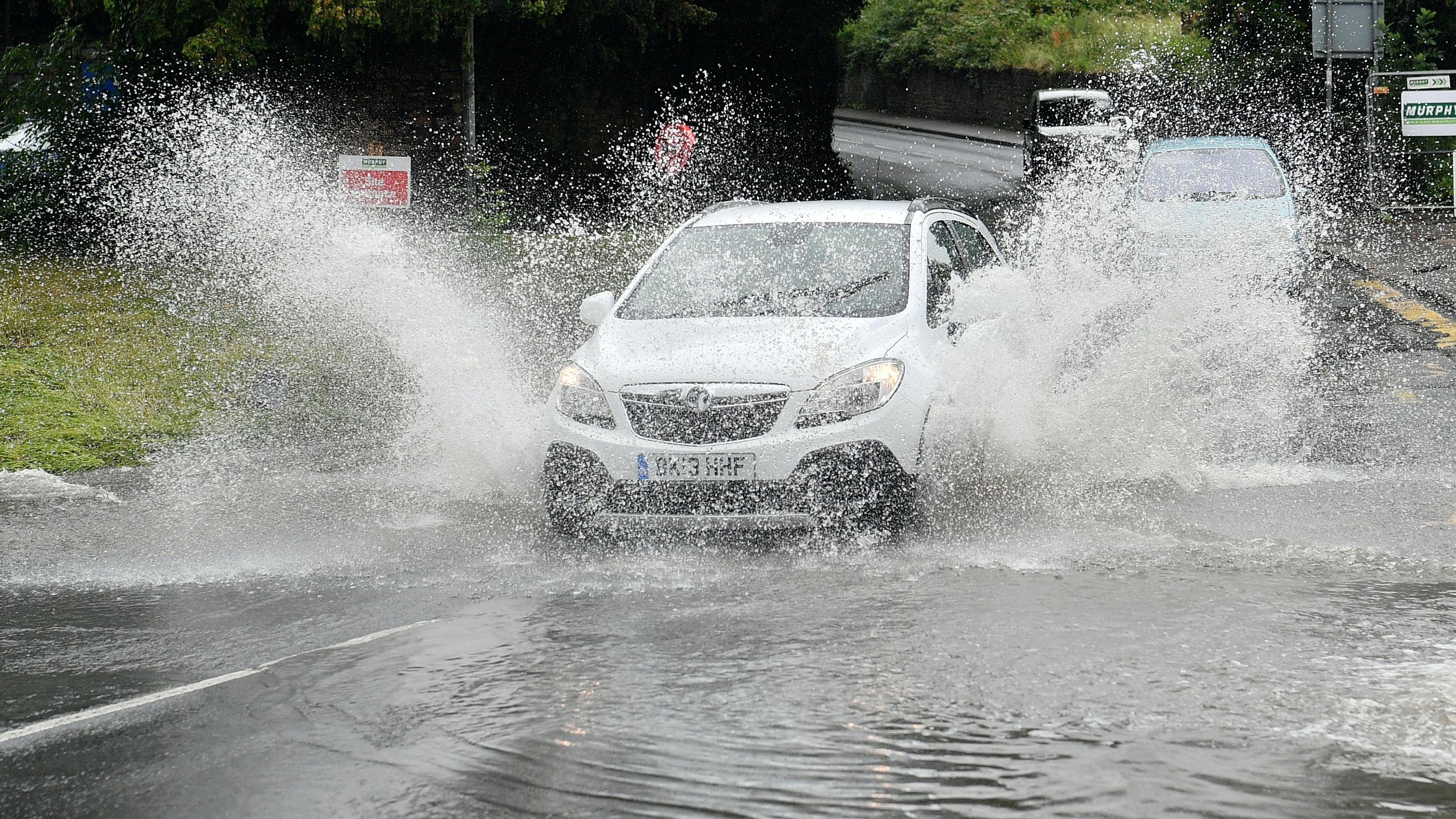 Rain, Wind Make for Miserable Day in DC Area - NBC4 Washington