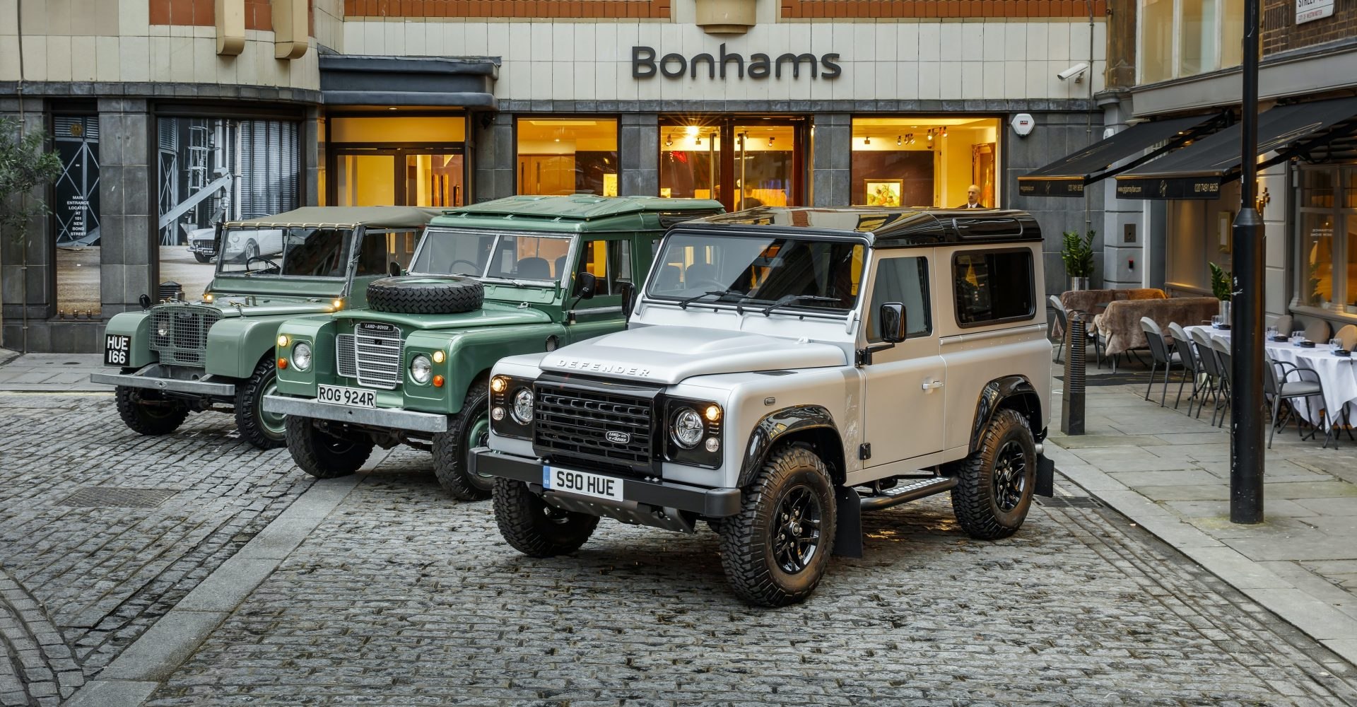The history of the Land Rover Defender