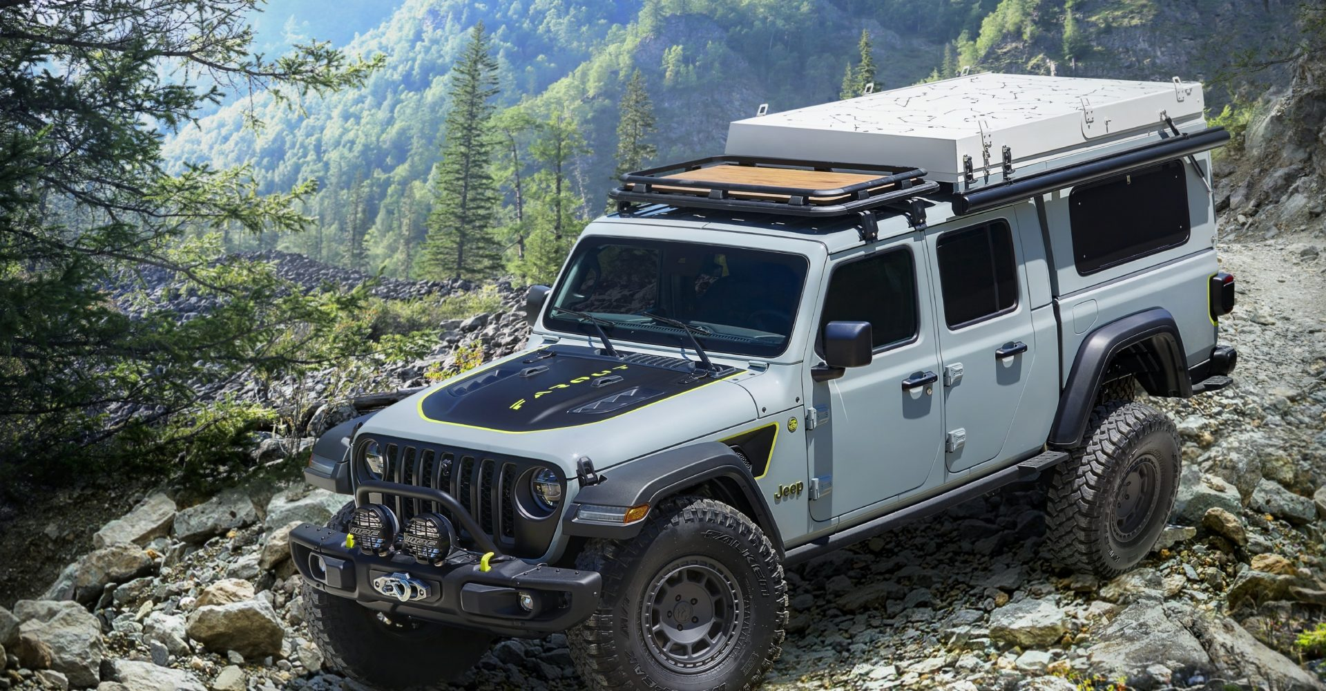 Jeep releases adventure-ready Gladiator Farout concept