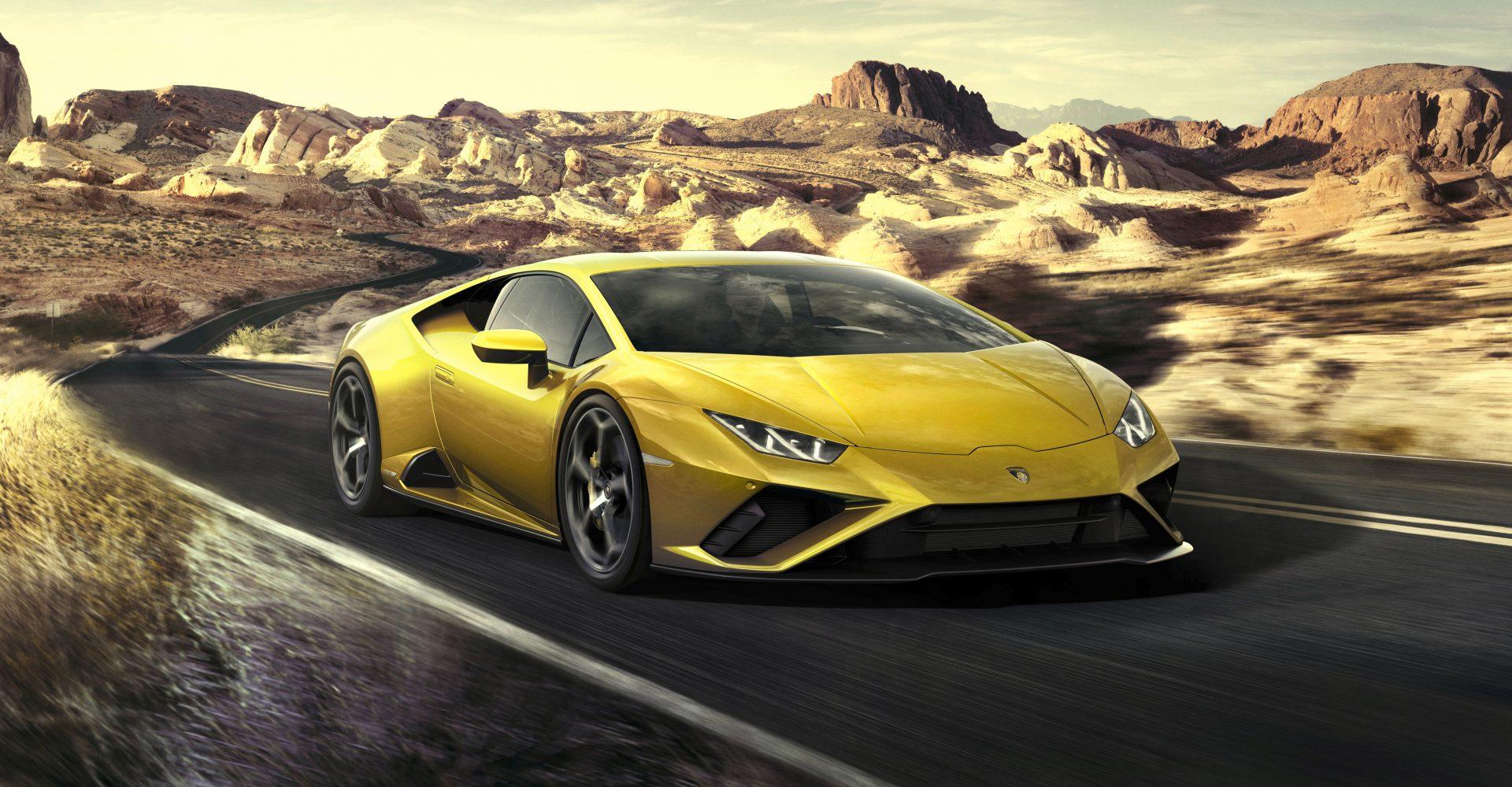 First Drive: The Lamborghini Huracan Evo RWD brings theatre and performance
