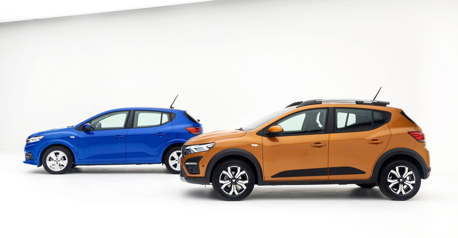 Dacia reveals updated and enhanced Sandero and Sandero Stepway