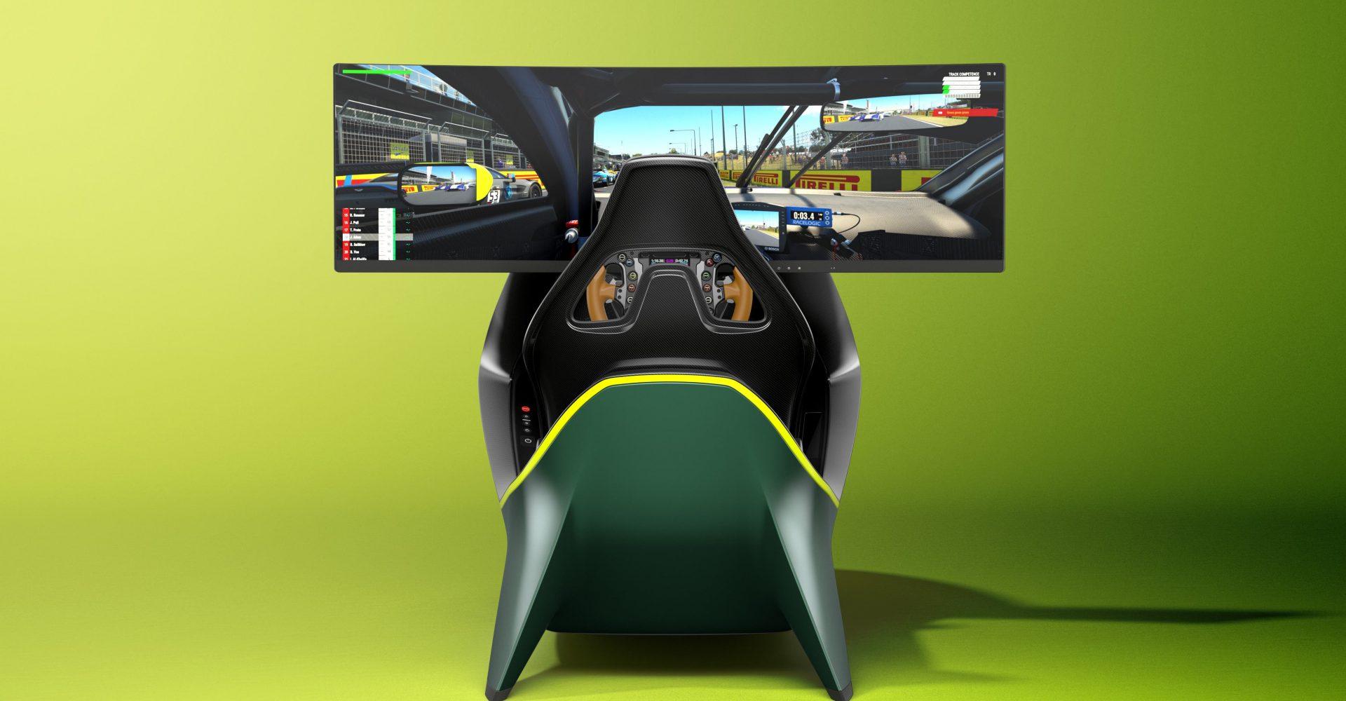 Aston Martin reveals carbon-fibre racing simulator that costs £60k