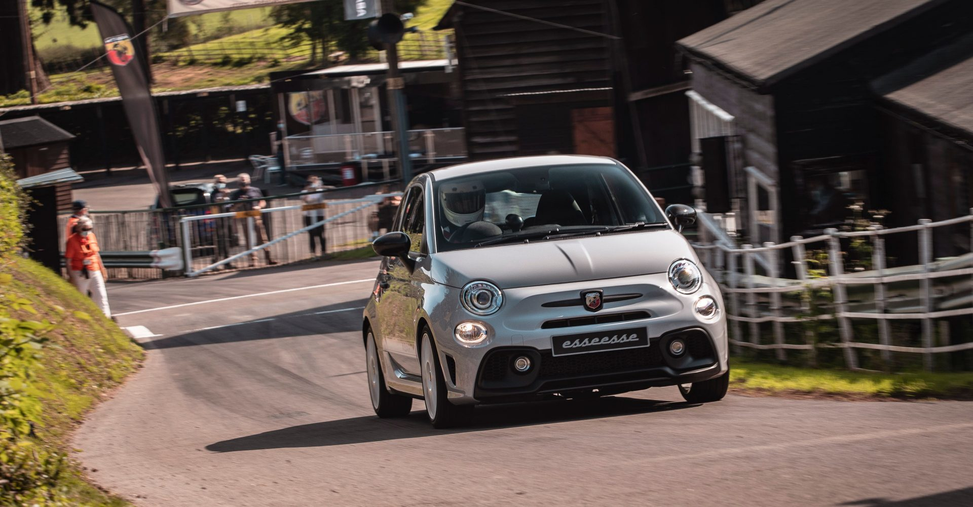 Tackling the Shelsley Walsh hillclimb in an Abarth. What could go wrong?