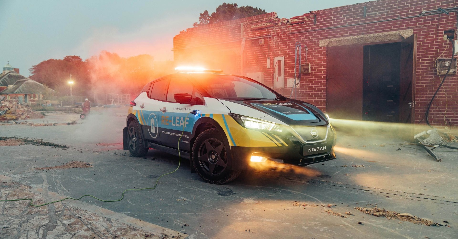 Nissan reveals electric emergency response vehicle concept
