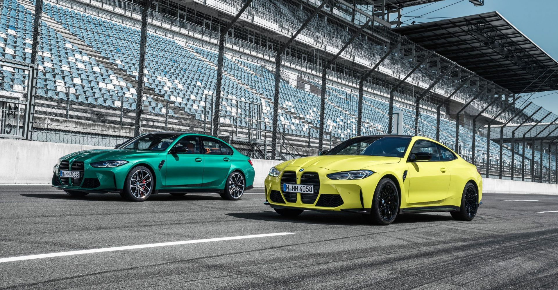 BMW unveils new M3 and M4