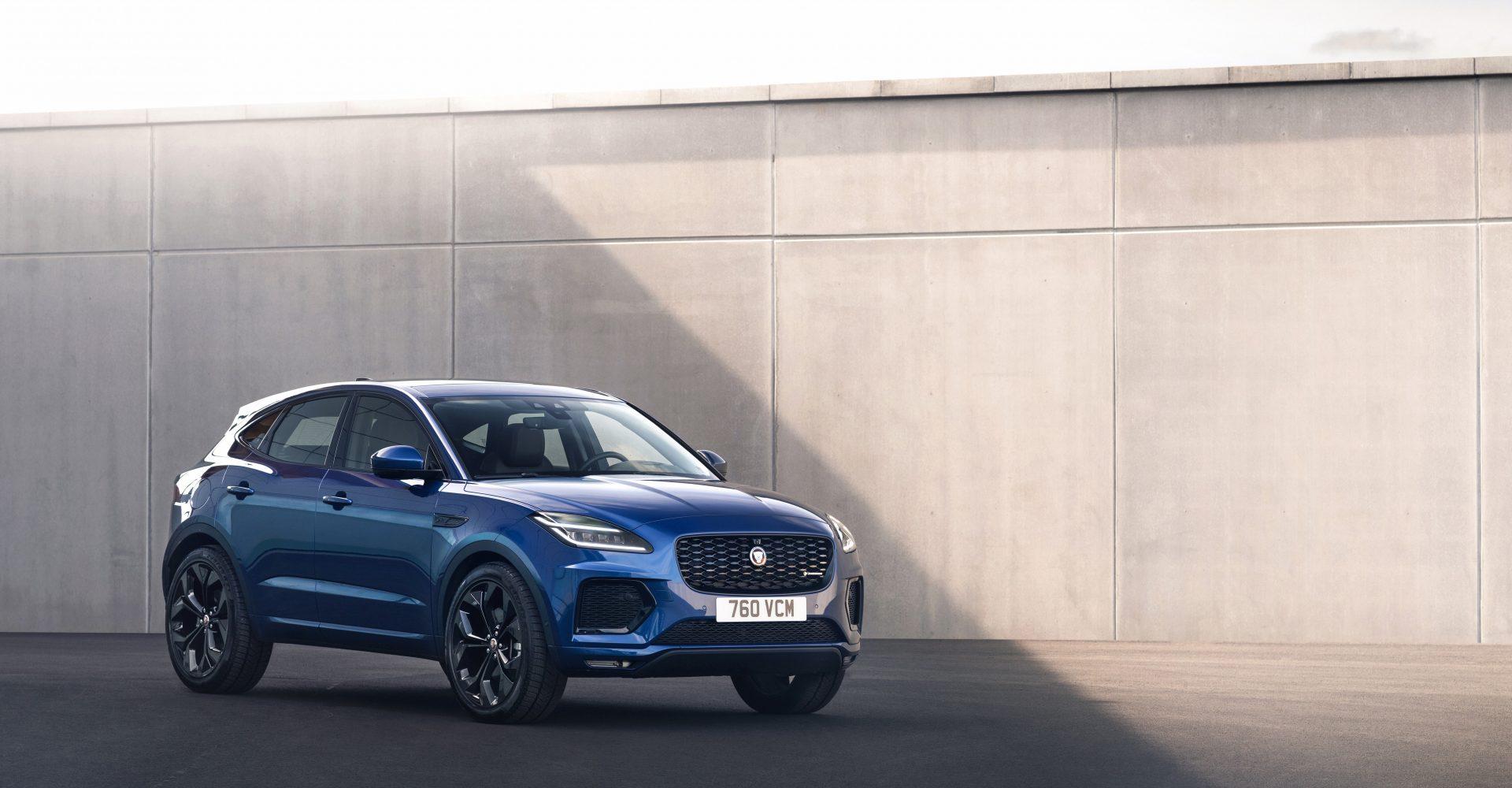 Jaguar updates E-Pace with new hybrid powertrains