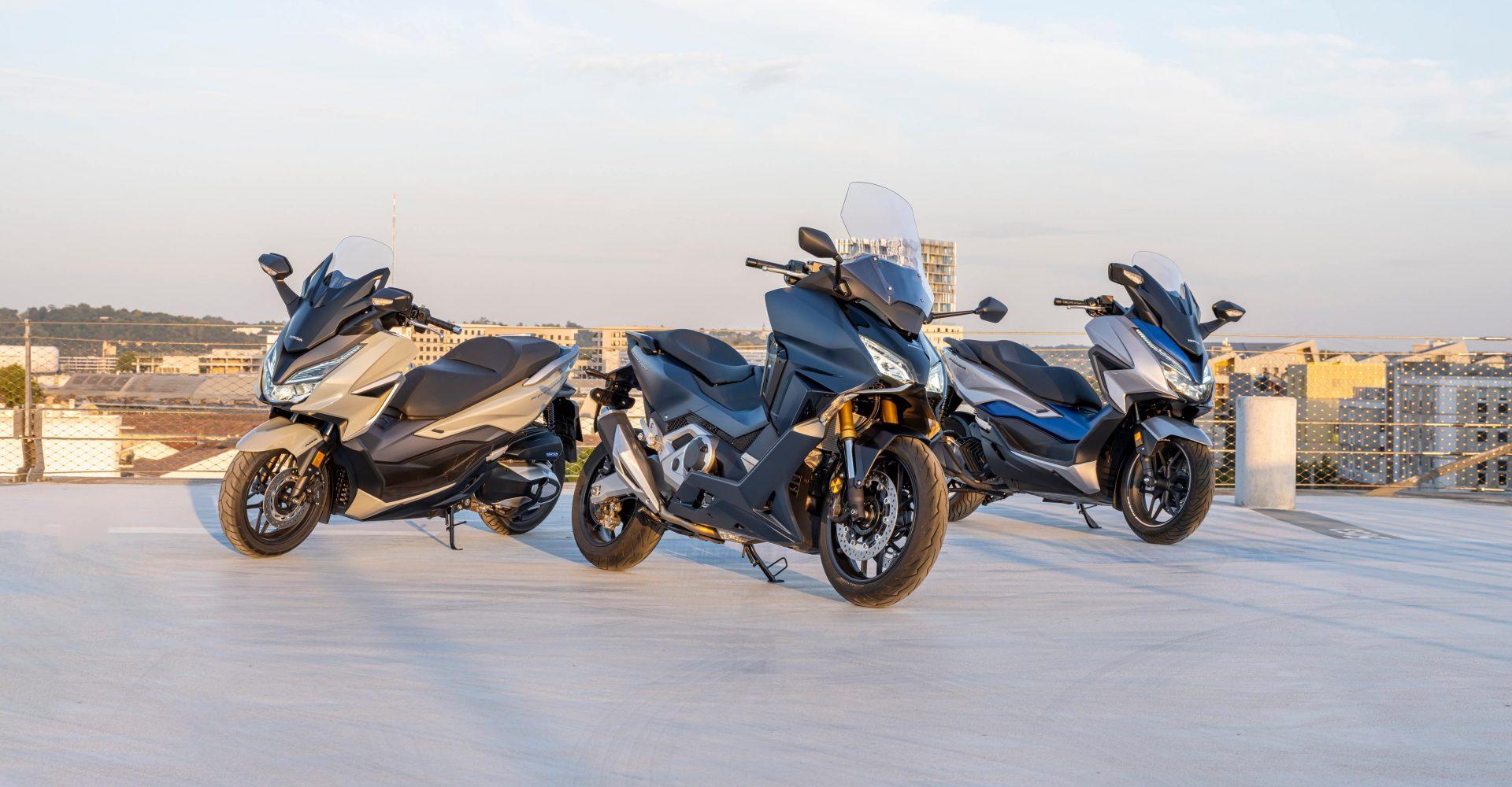 Honda enhances scooter range with new Forza models