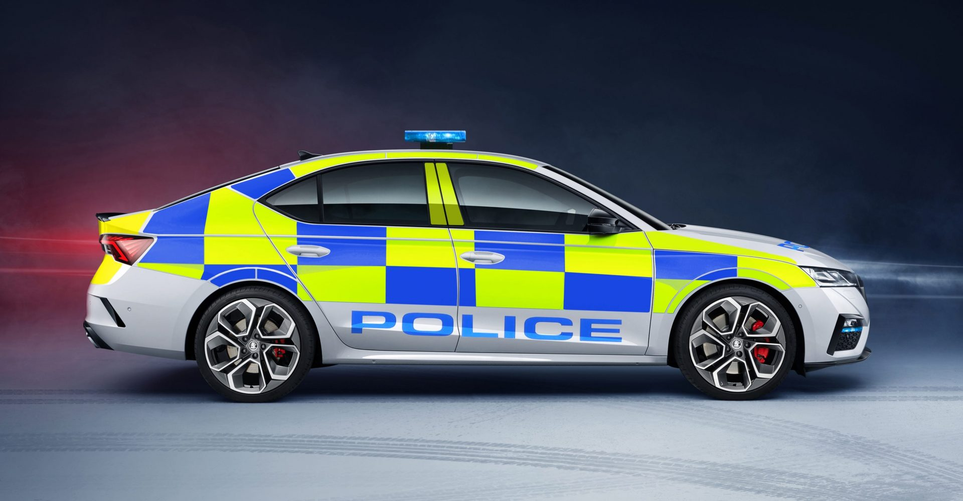 New Skoda Octavia vRS now available for UK police use