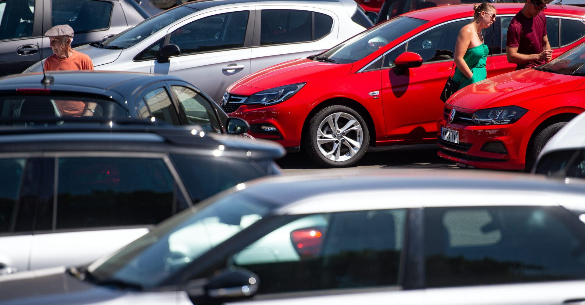 How does England's post-lockdown tier system affect car buying?