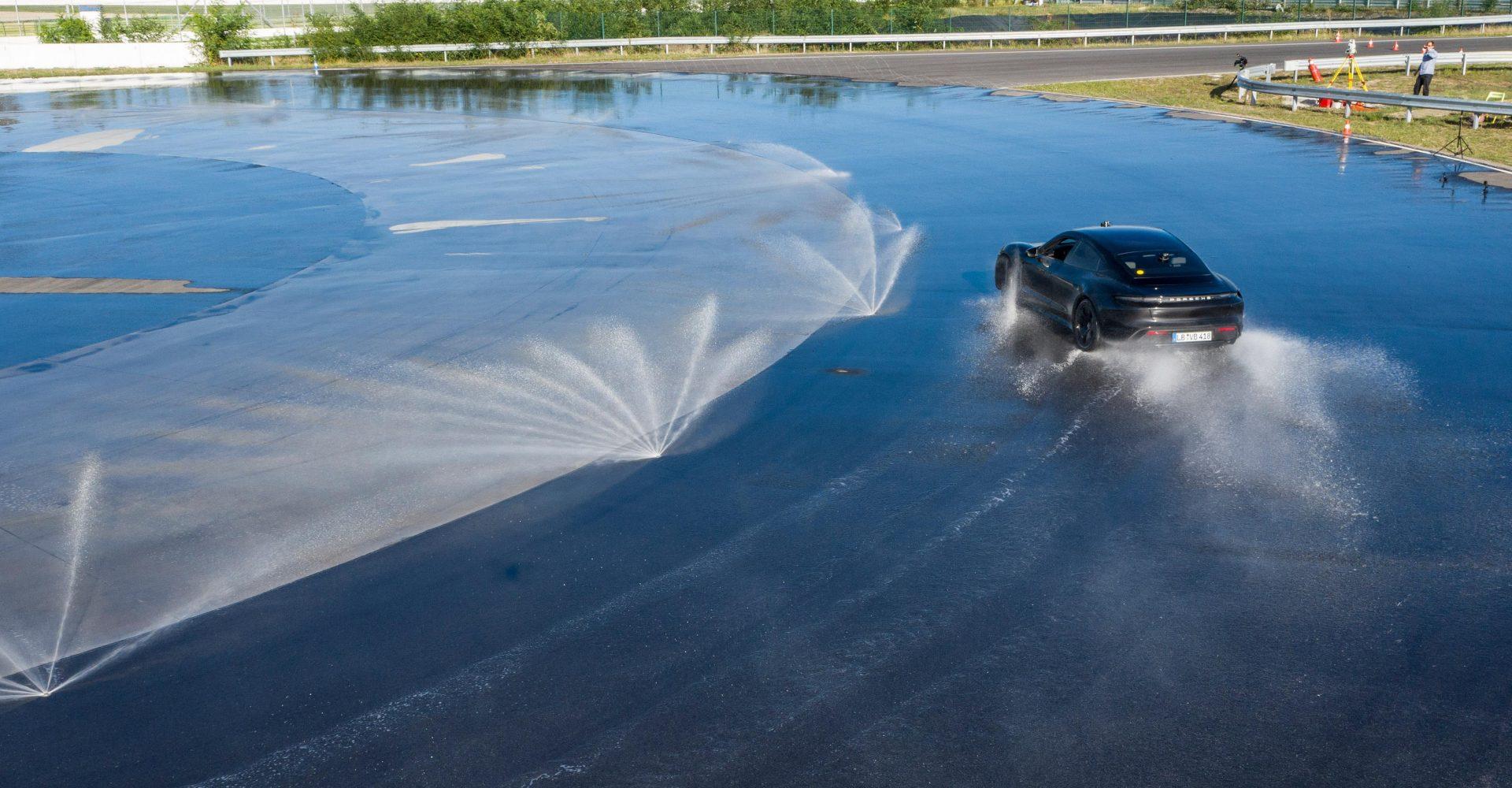 Porsche Taycan breaks Guinness World Record for longest EV drift