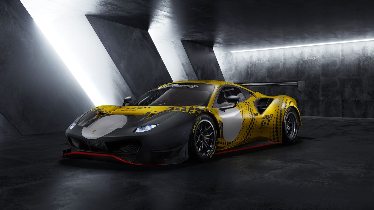 Ferrari reveals track-only 488 GT Modificata