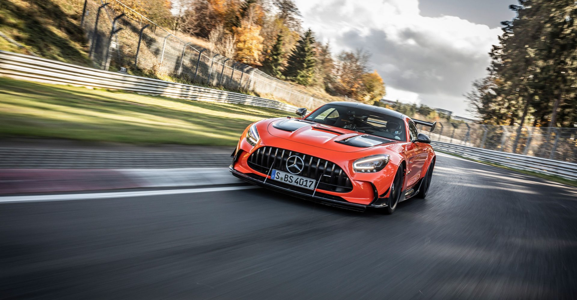 Mercedes-AMG GT Black Series smashes Nurburgring lap record