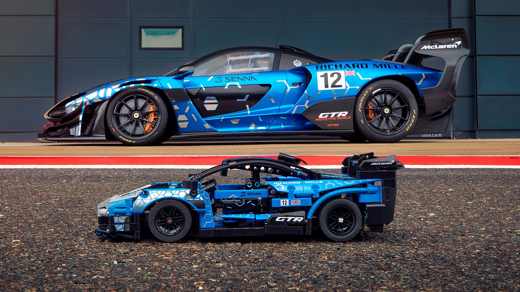 McLaren Senna GTR becomes latest Lego Technic addition