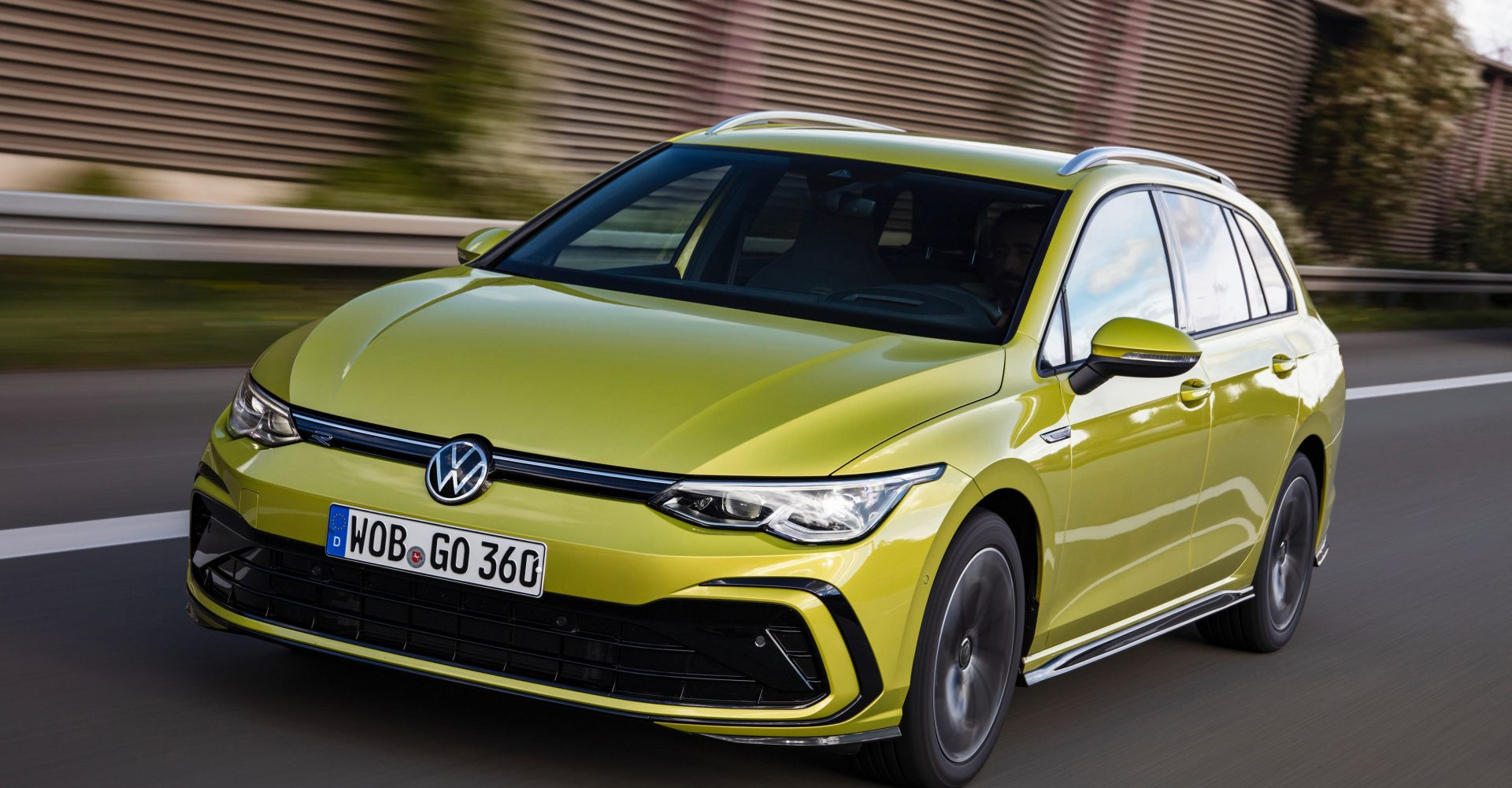 New Volkswagen Golf Estate hits the road priced from £24,575