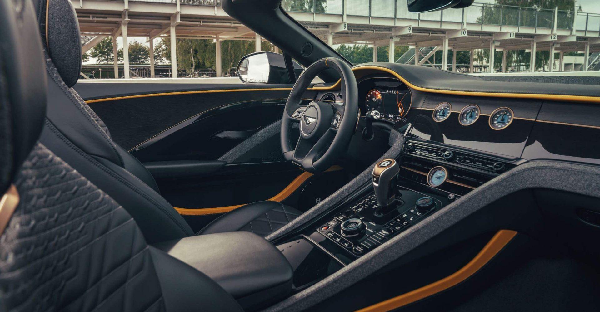 Bentley buyers can now add tweed door trim to their car